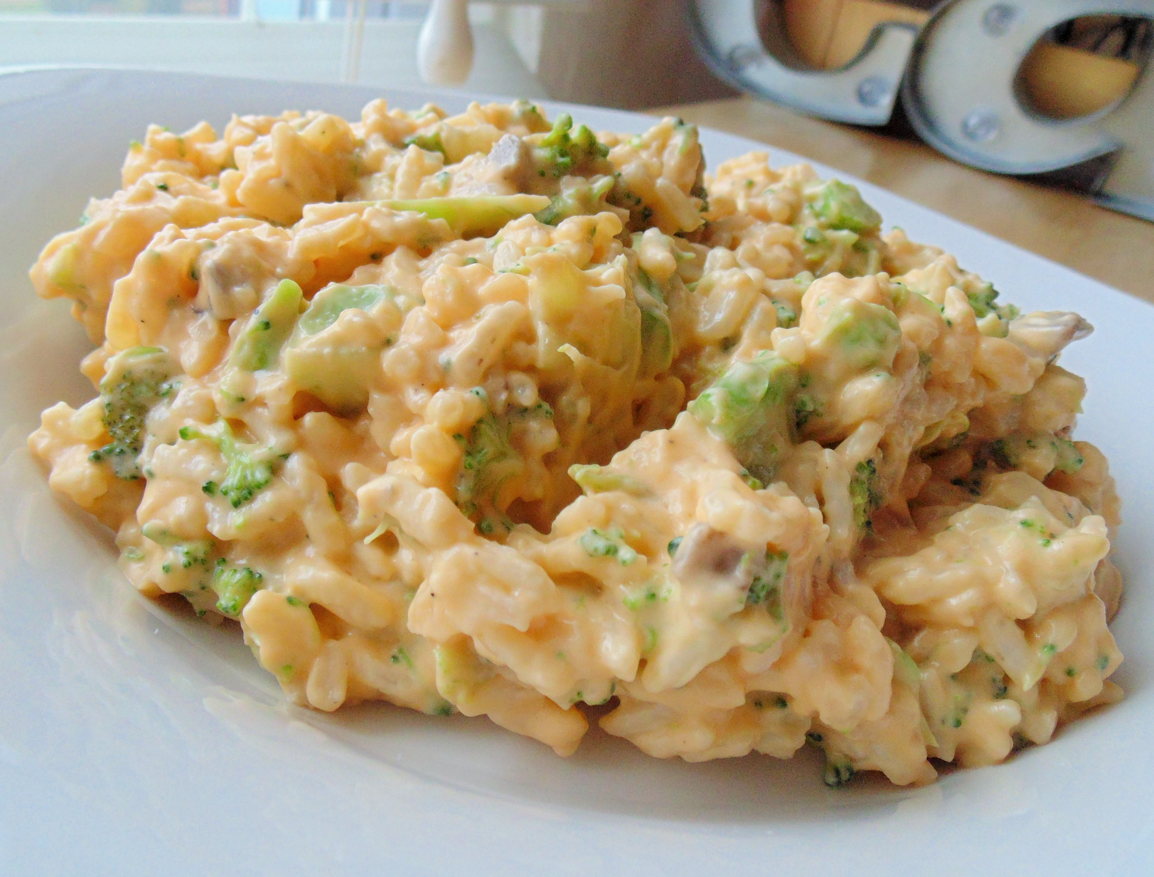 Broccoli Casserole with Rice Helen