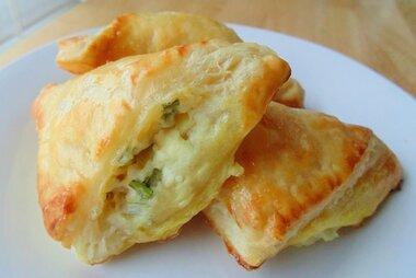feta cheese foldovers recipe