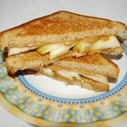 Grilled Peanut Butter Apple Sandwiches GodivaGirl