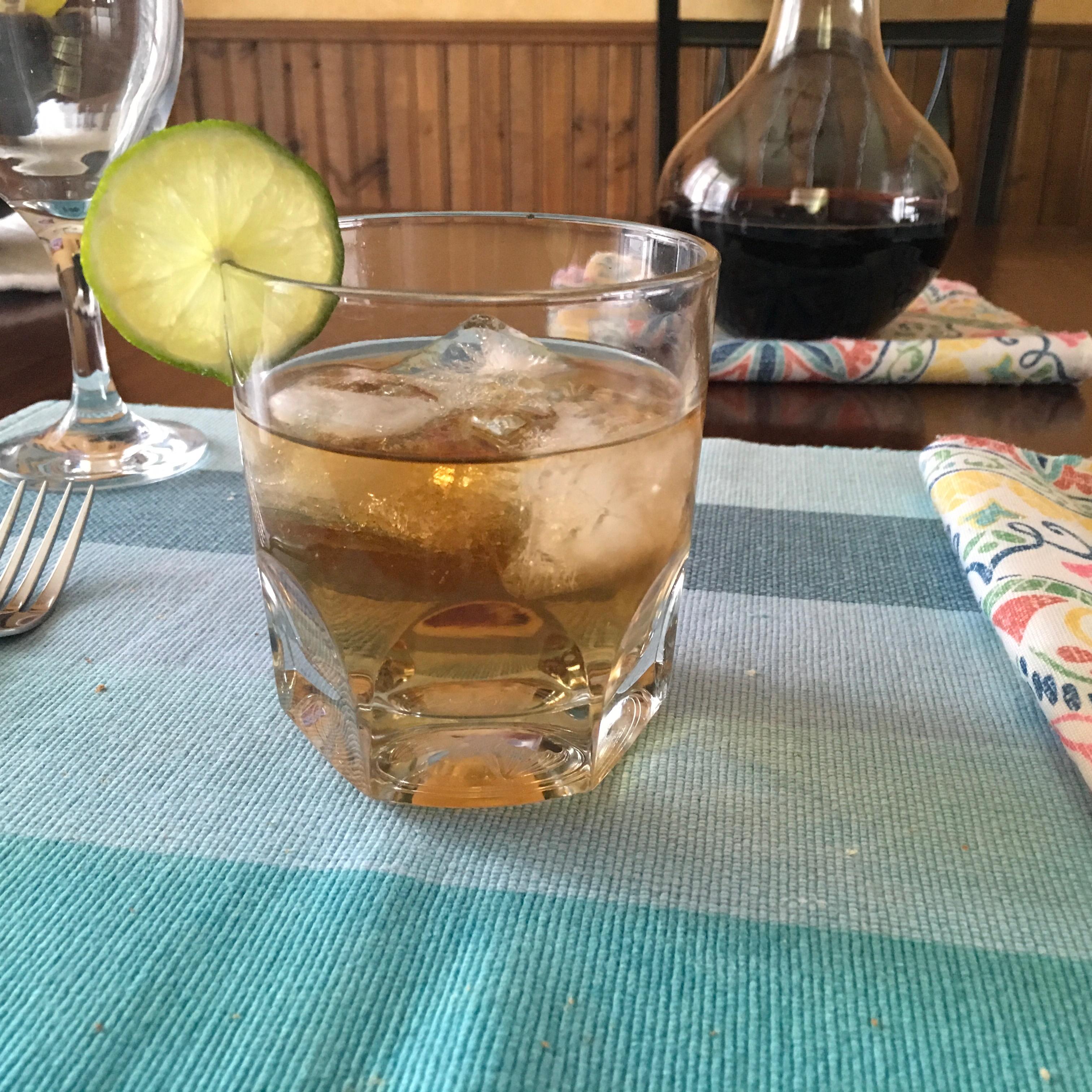 Dark 'n' Stormy Cocktail Paulette Macdonald