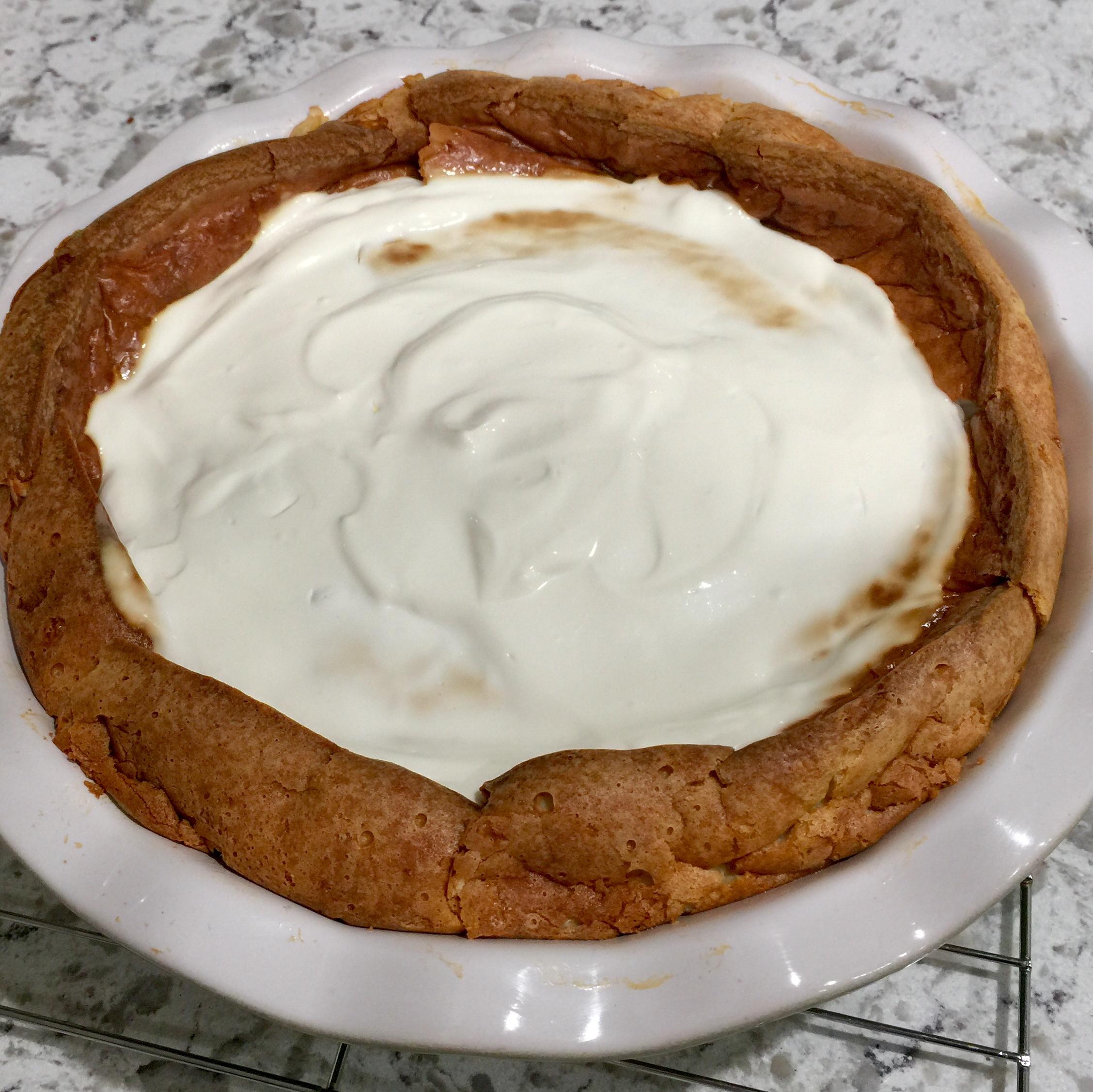 Blue Cheese Cheesecake