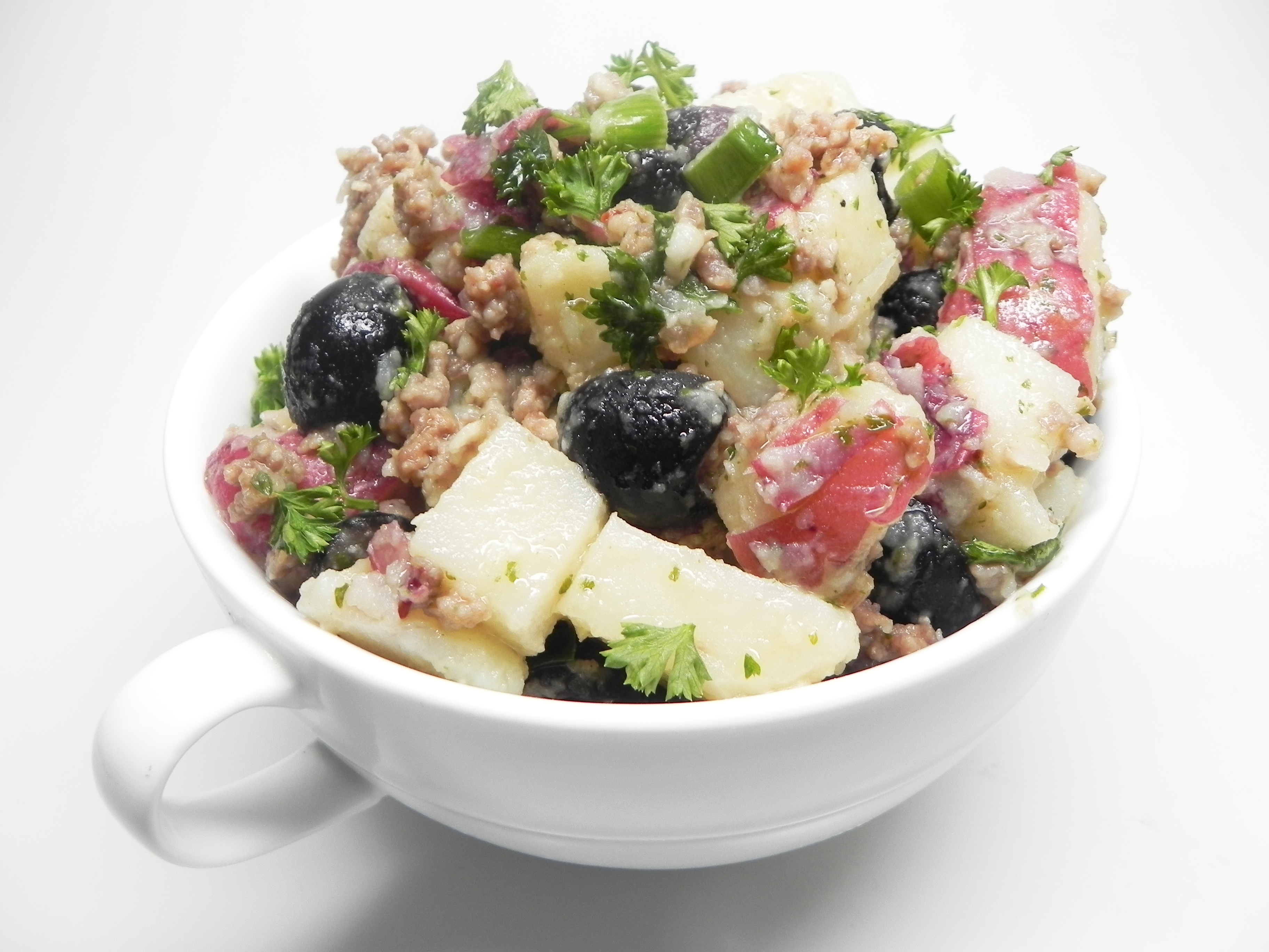 Marinated Potato Salad with Anchovy Vinaigrette