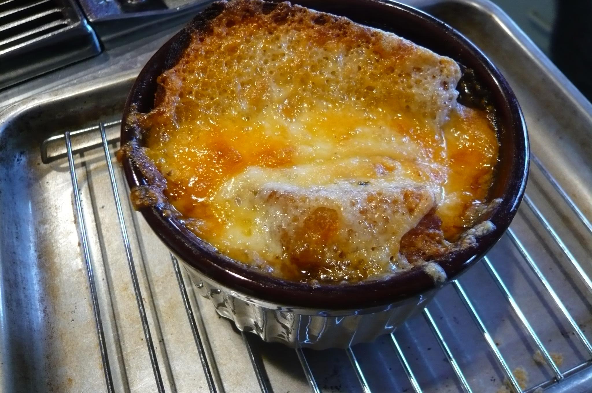 American French Onion Soup Jan Mowbray