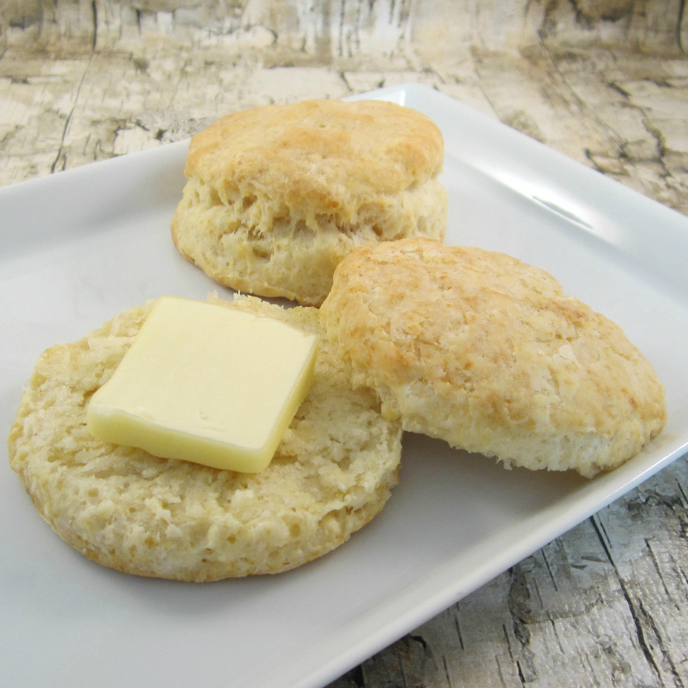 Fluffy Sour Cream Biscuits