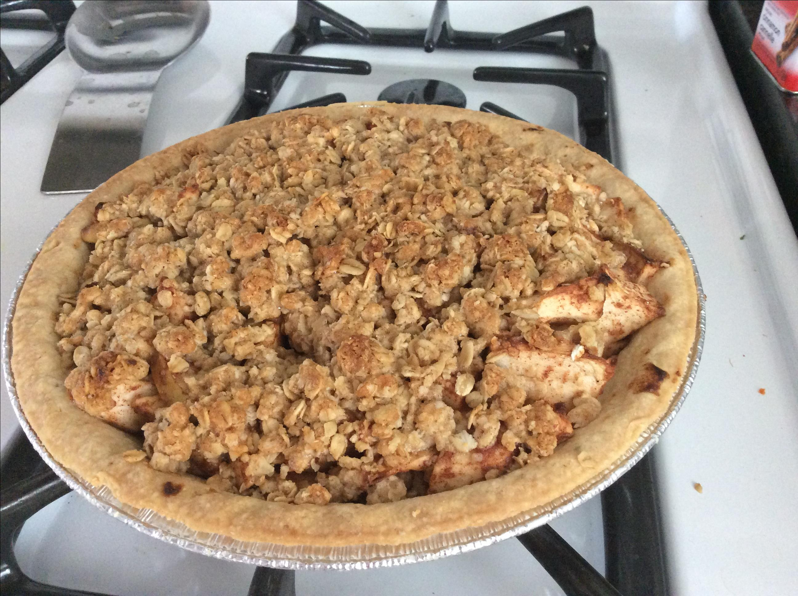 Apple Crisp Pie MaryAnn