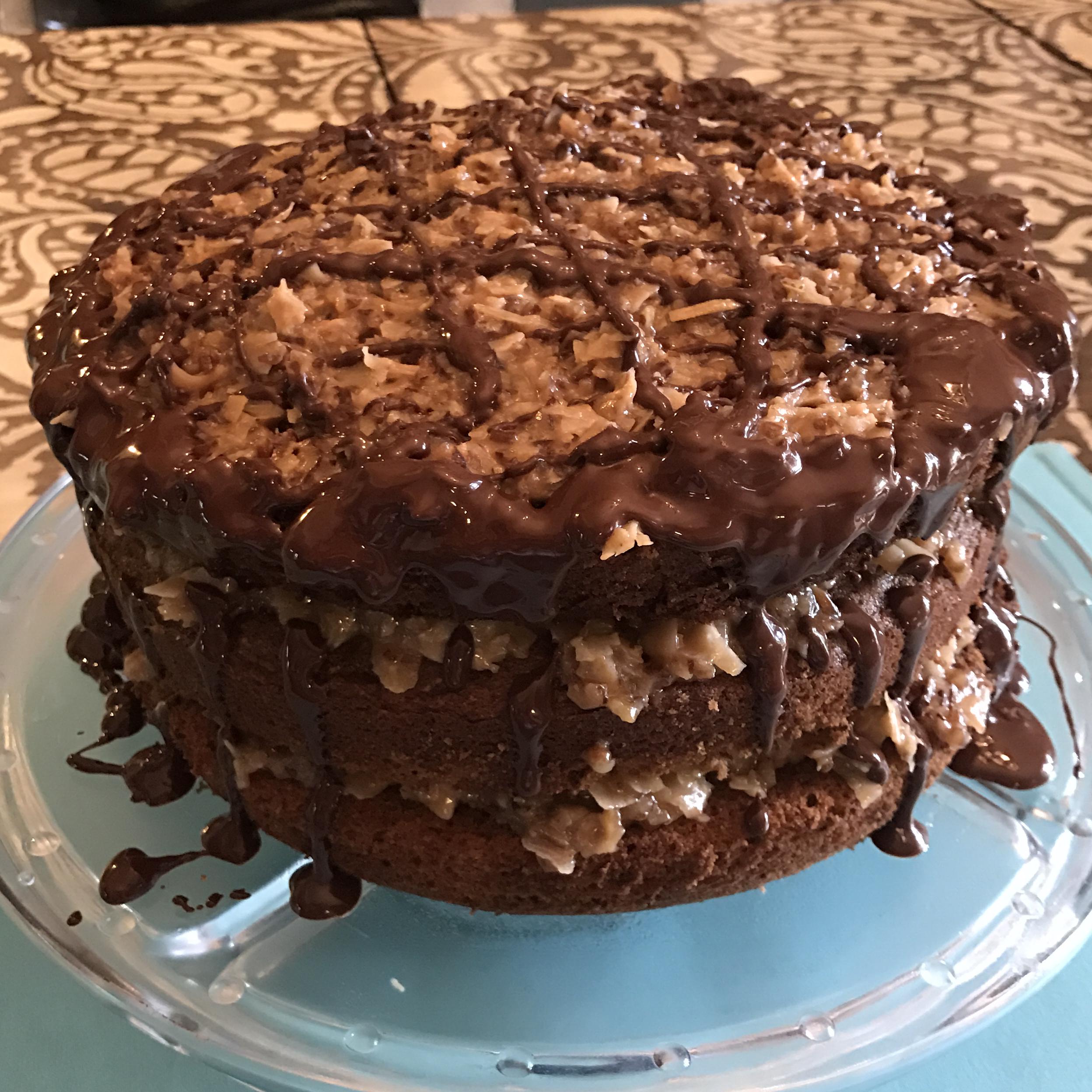 German Chocolate Cake III Sally Hamilton