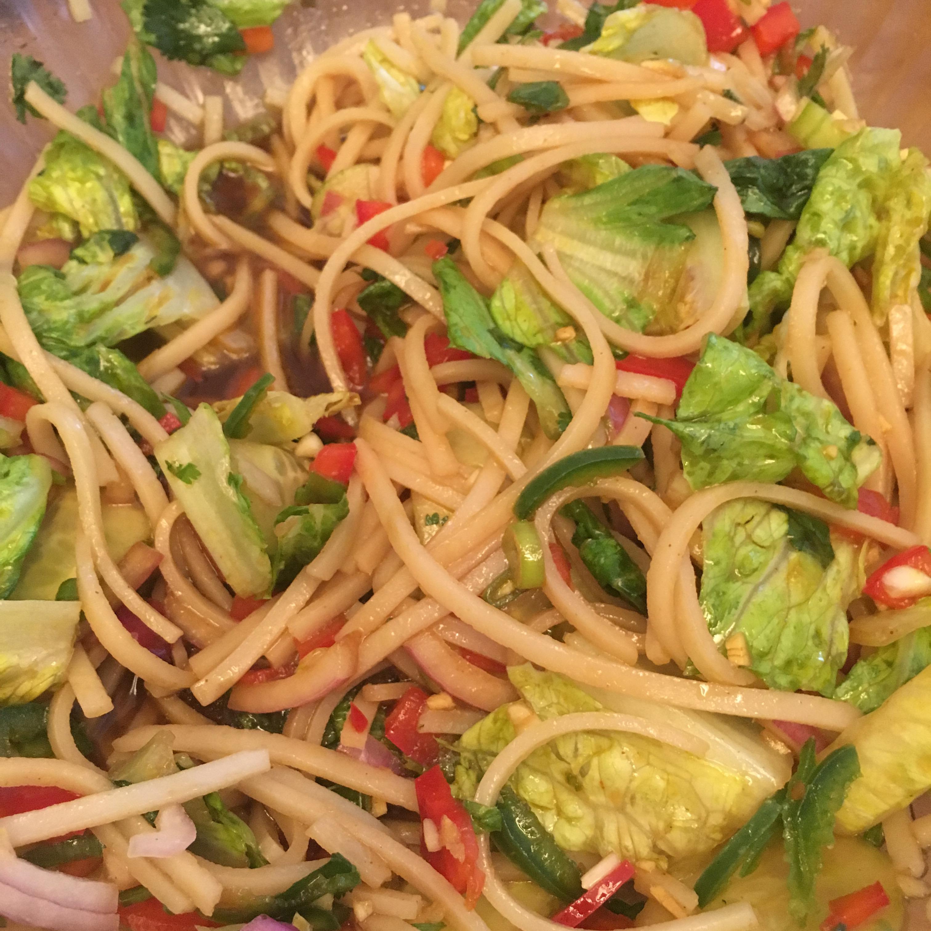 Thai Rice Noodle Salad BOOM642