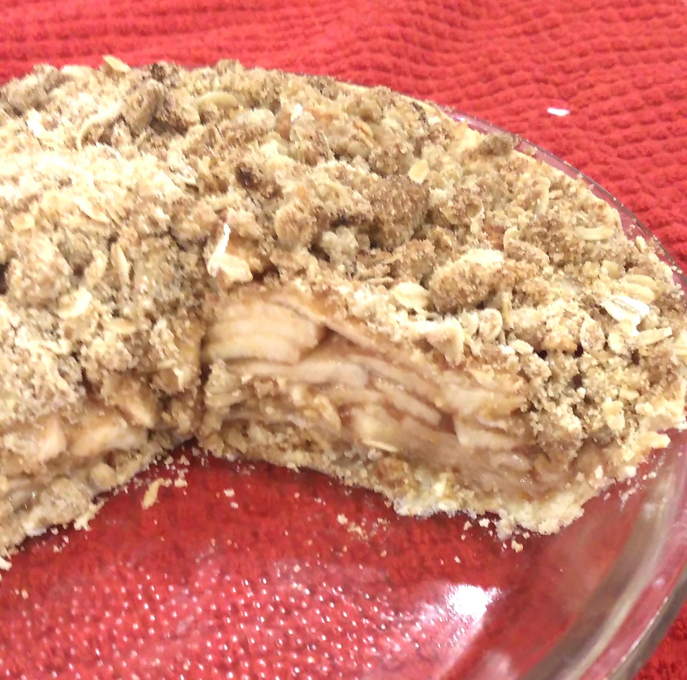 Perfect Apple Crisp Pie