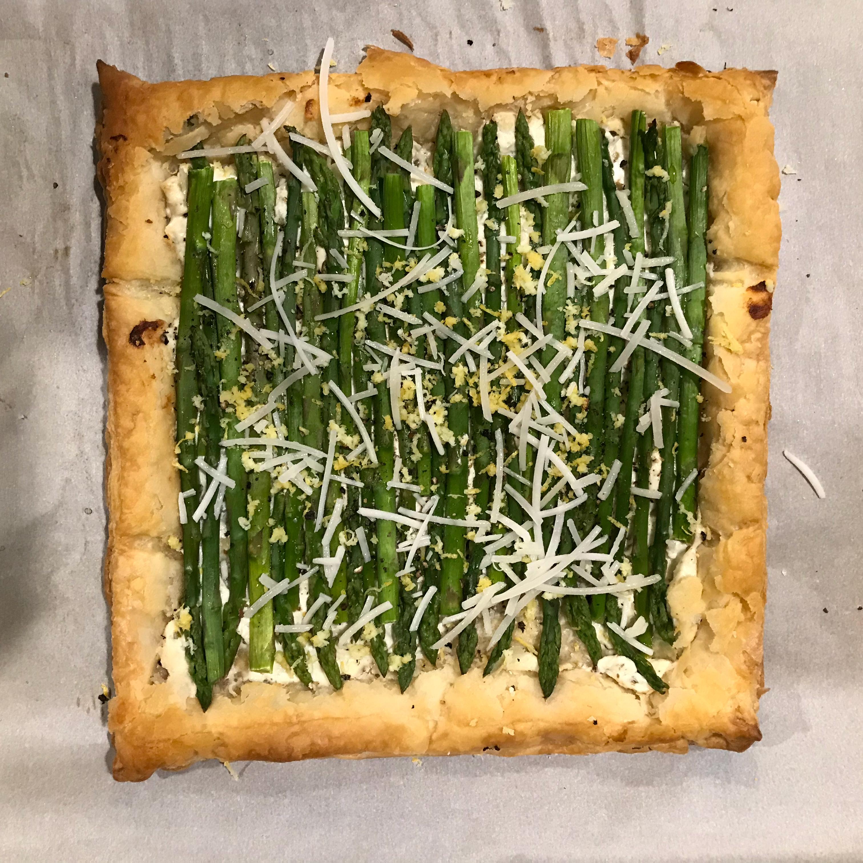 Chef John's Asparagus Tart Elizabeth