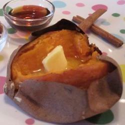 Camotes al Horno (Baked Yams)