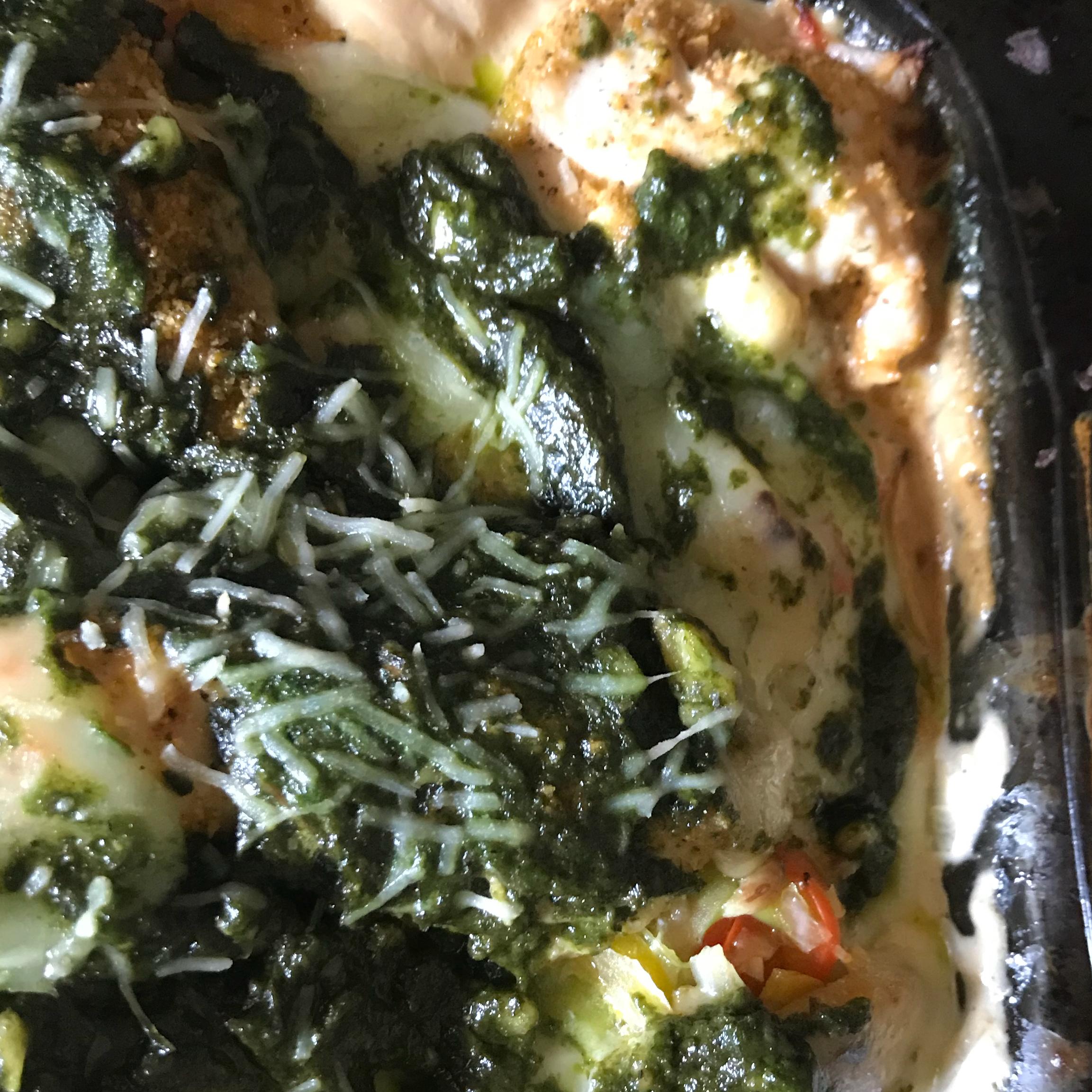 Chicken, Mushroom, and Polenta Lasagna Mark Polacek