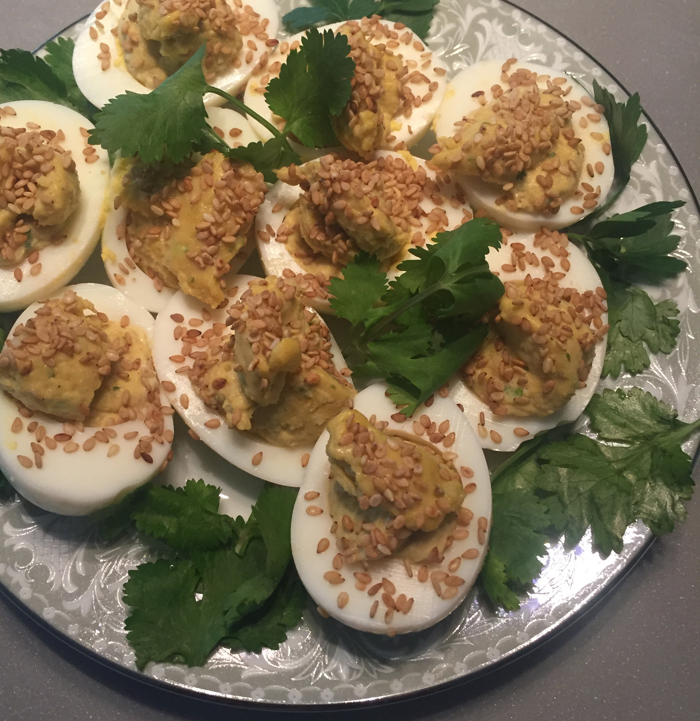 Japanese Deviled Eggs clubkew