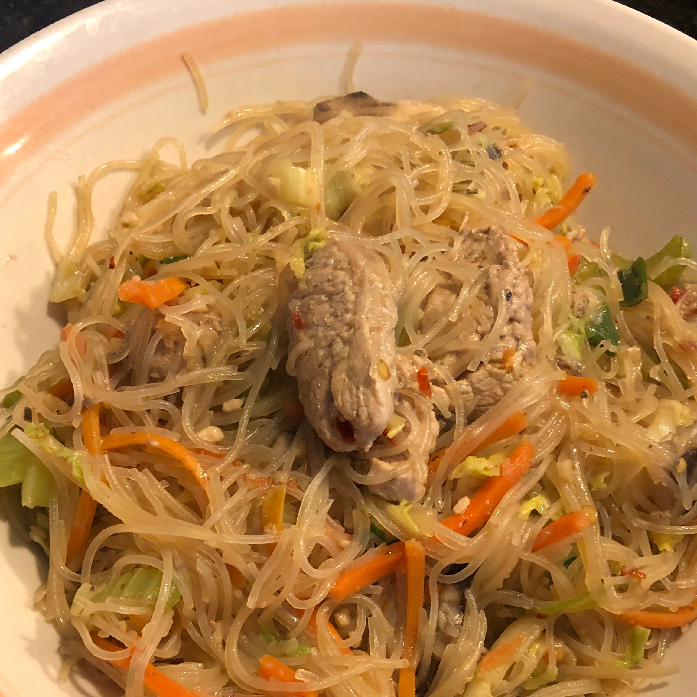 Indonesian Pork Noodle Bowl danmitchell