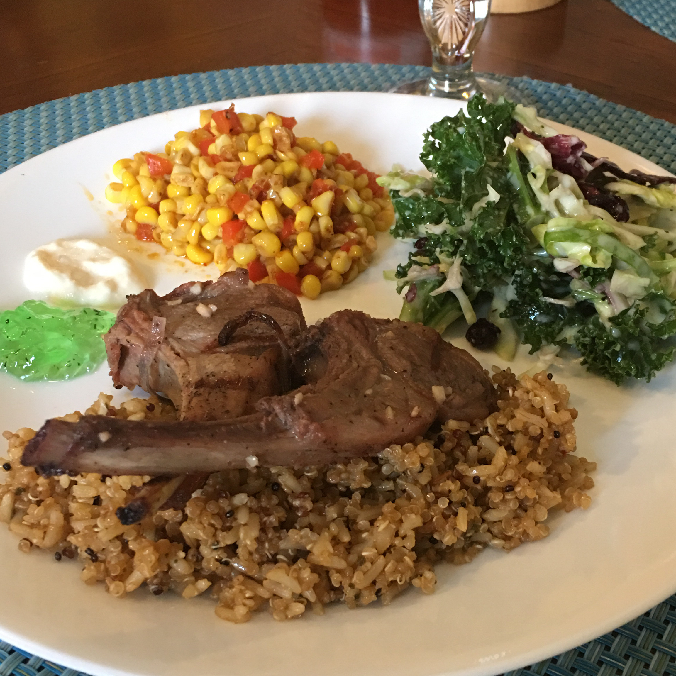 Simple Grilled Lamb Chops Lowell Cooper