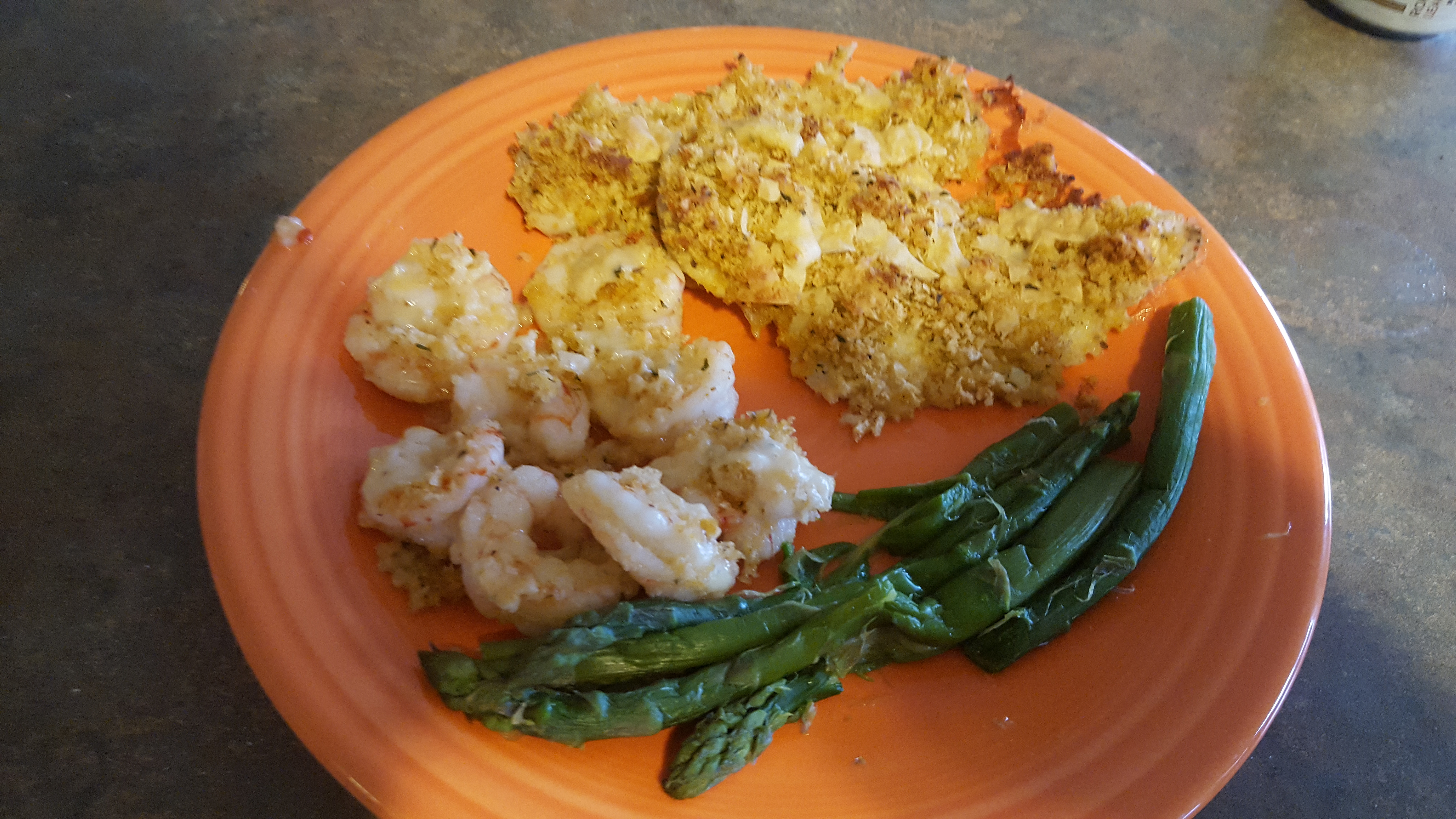 Baked Flounder with Panko and Parmesan Bryan Boone