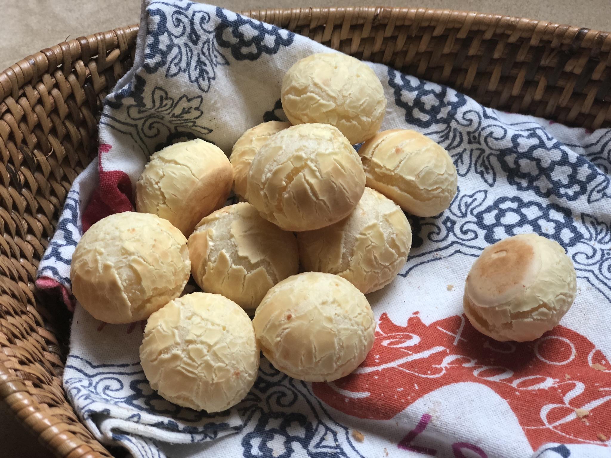 Gluten-Free Vegan Brazilian Cheese Breads