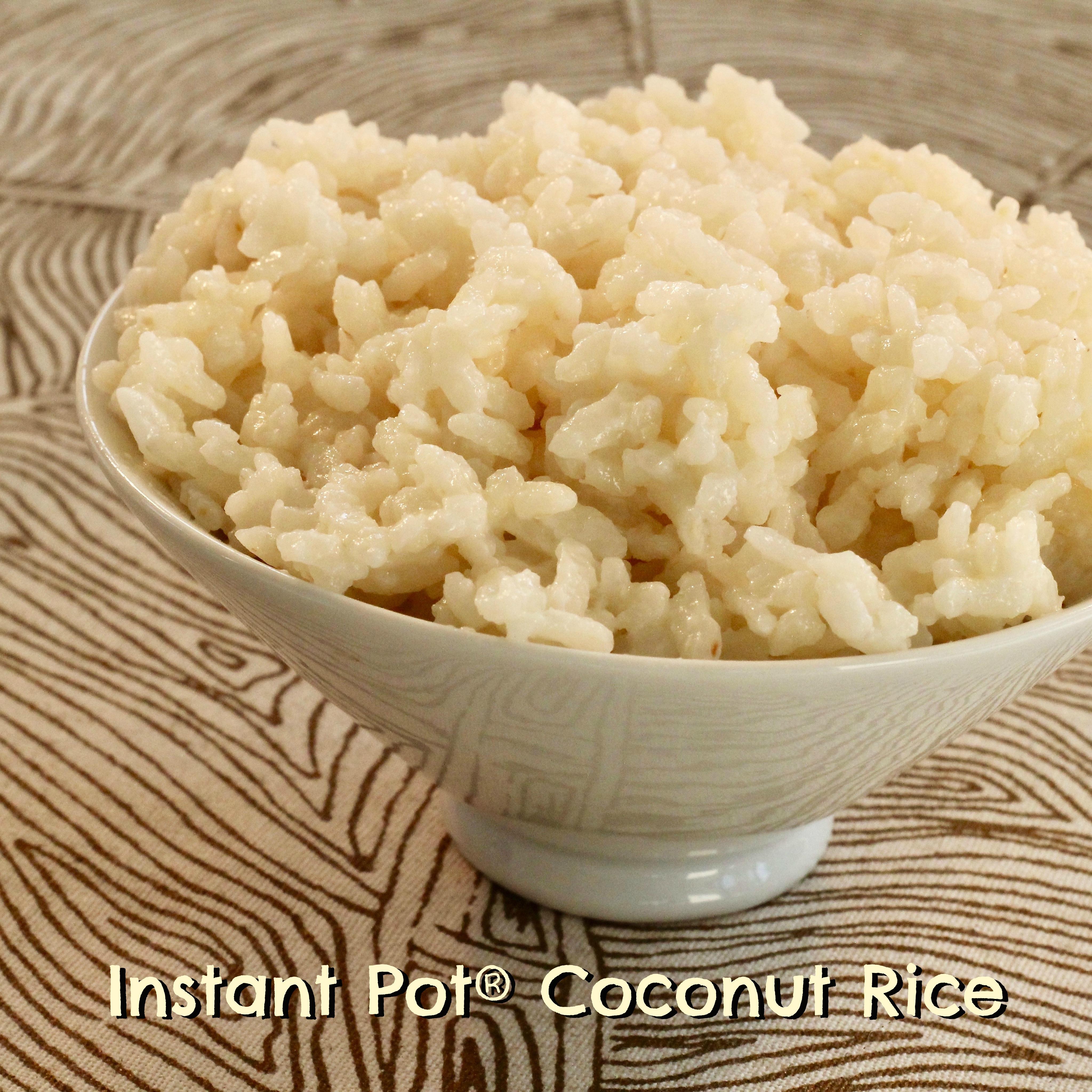 Instant Pot® Coconut Rice lutzflcat