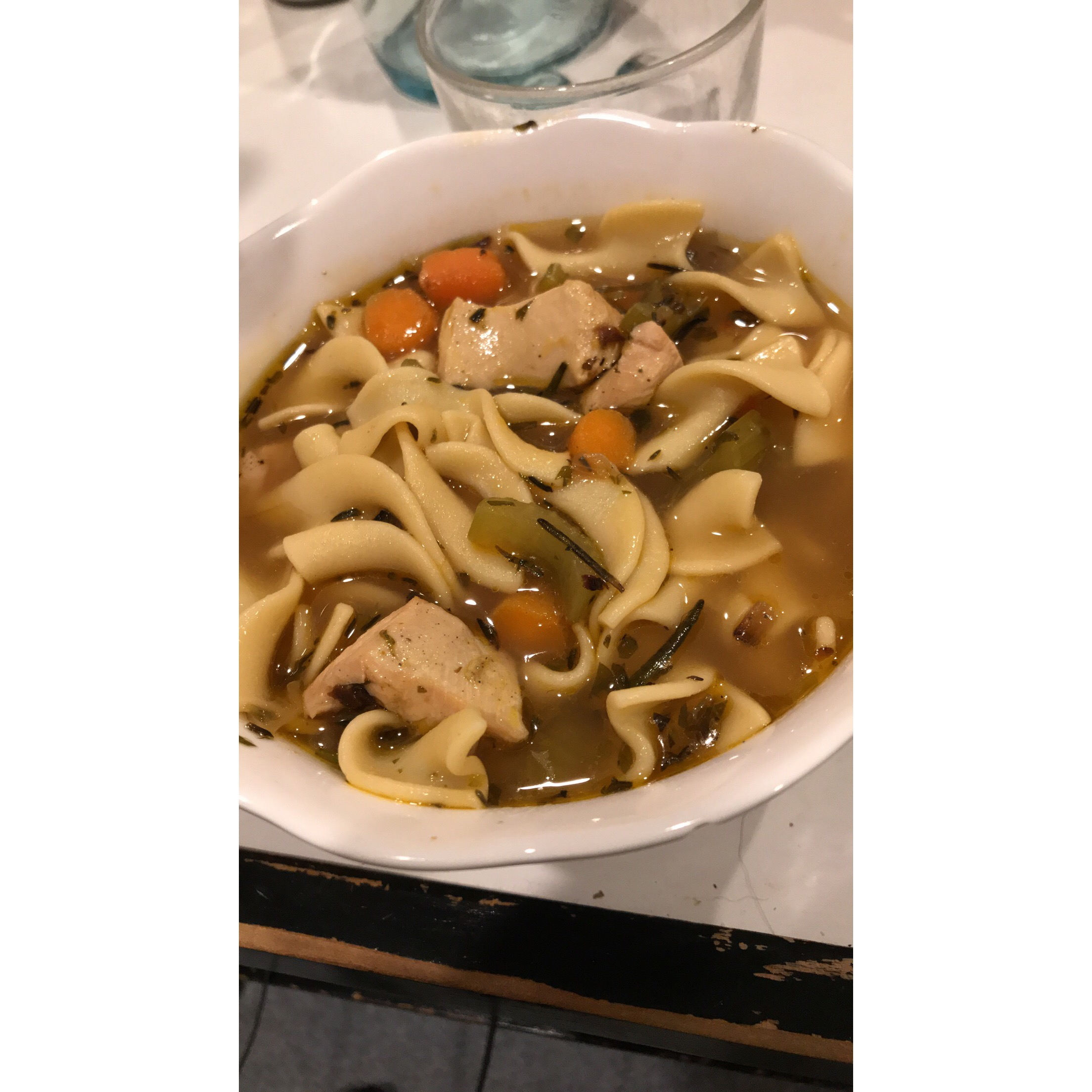 Steve's Chicken Noodle Soup Briana McDermott