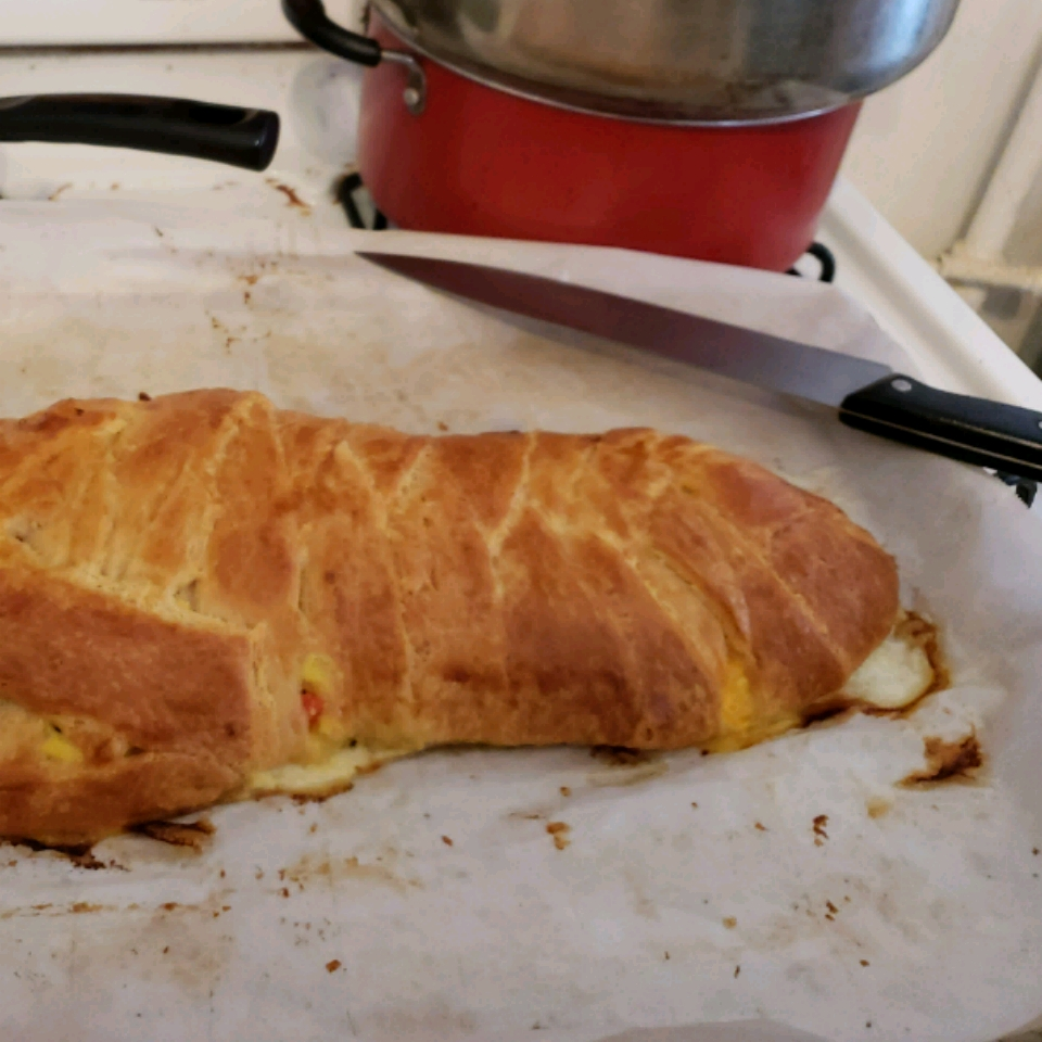 Scrambled Egg Brunch Bread