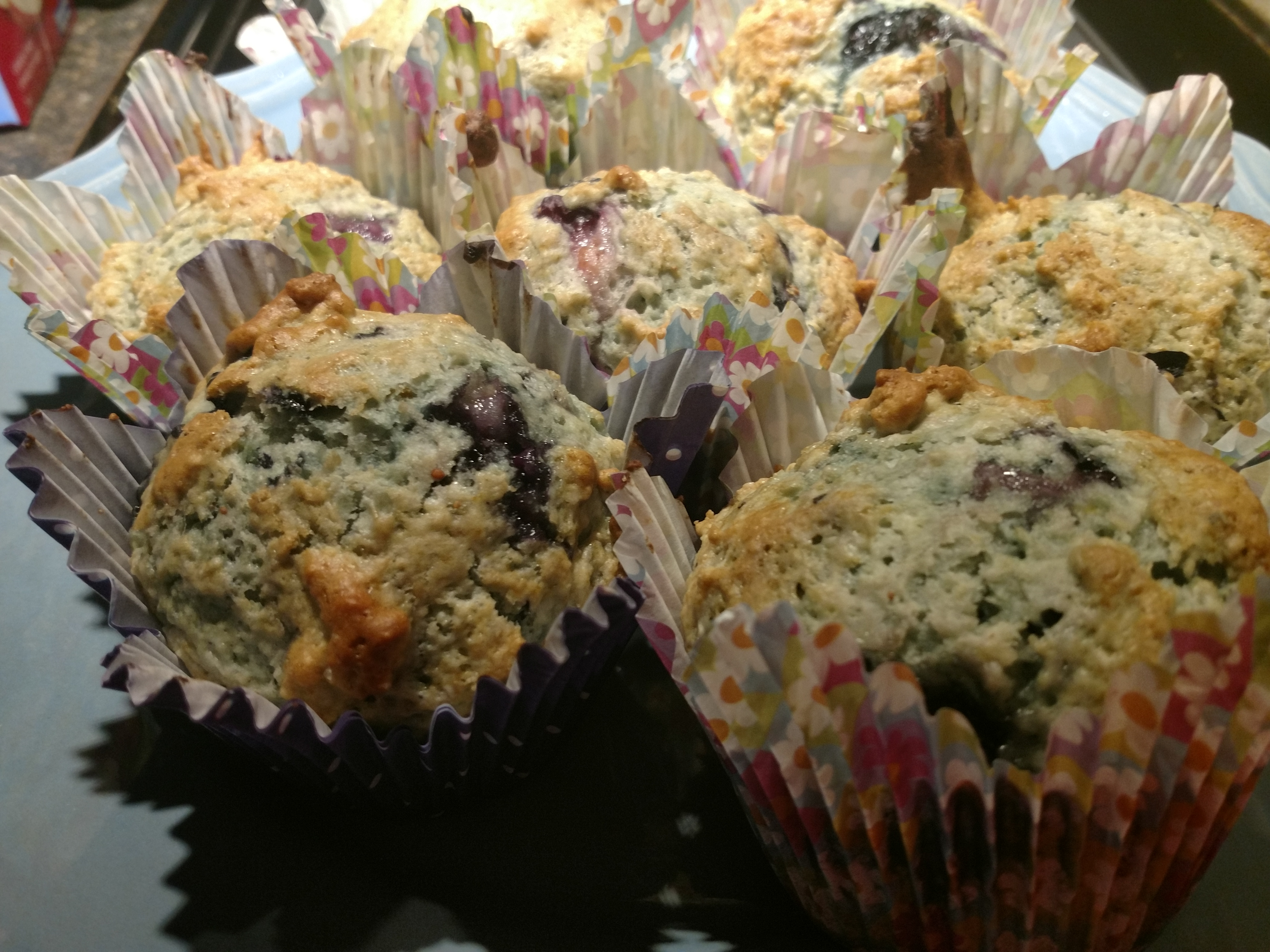 Blueberry Muffins I Mary Mulholland-D'hoore