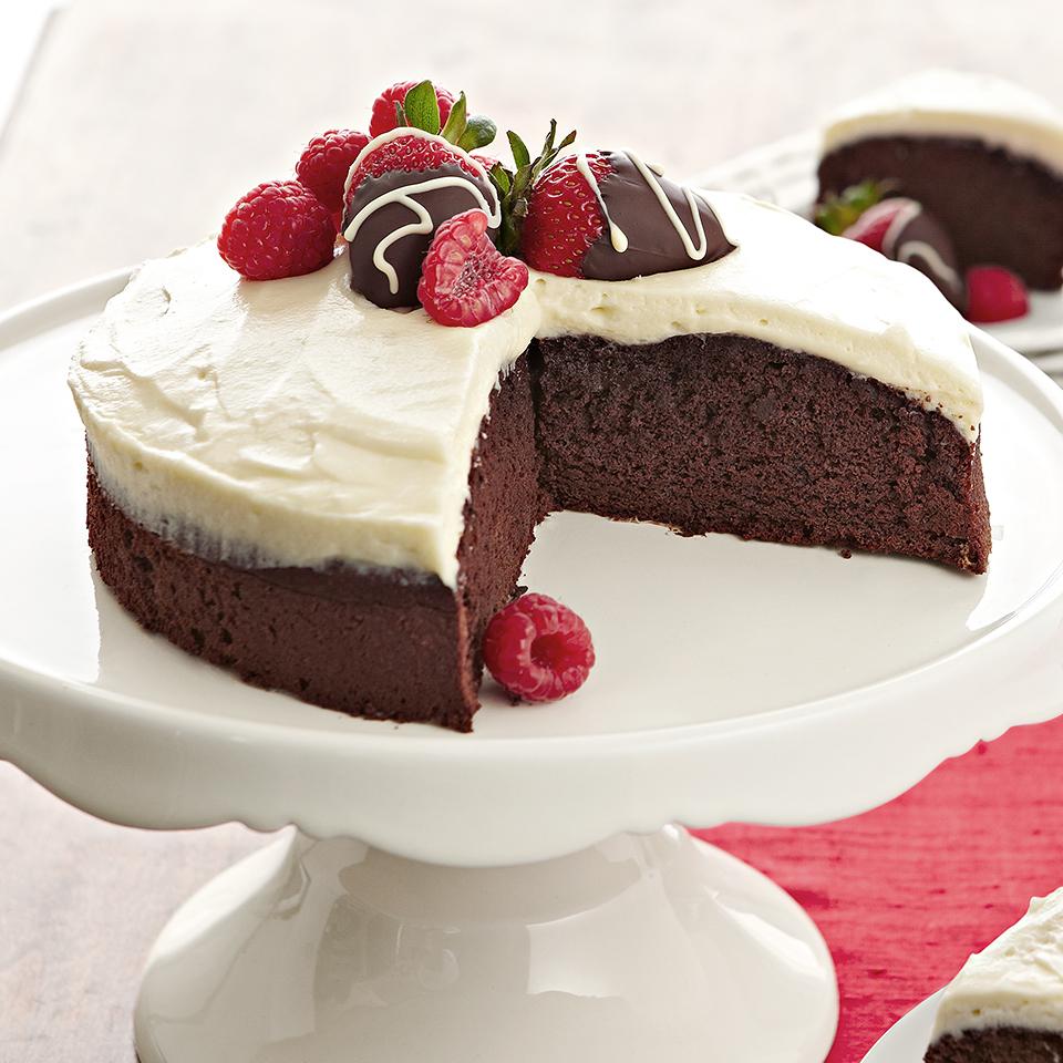 Black Tie Cake Diabetic Living Magazine