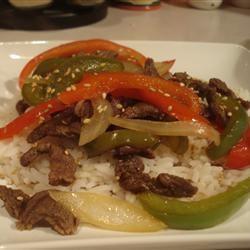 Maria's Pepper Steak