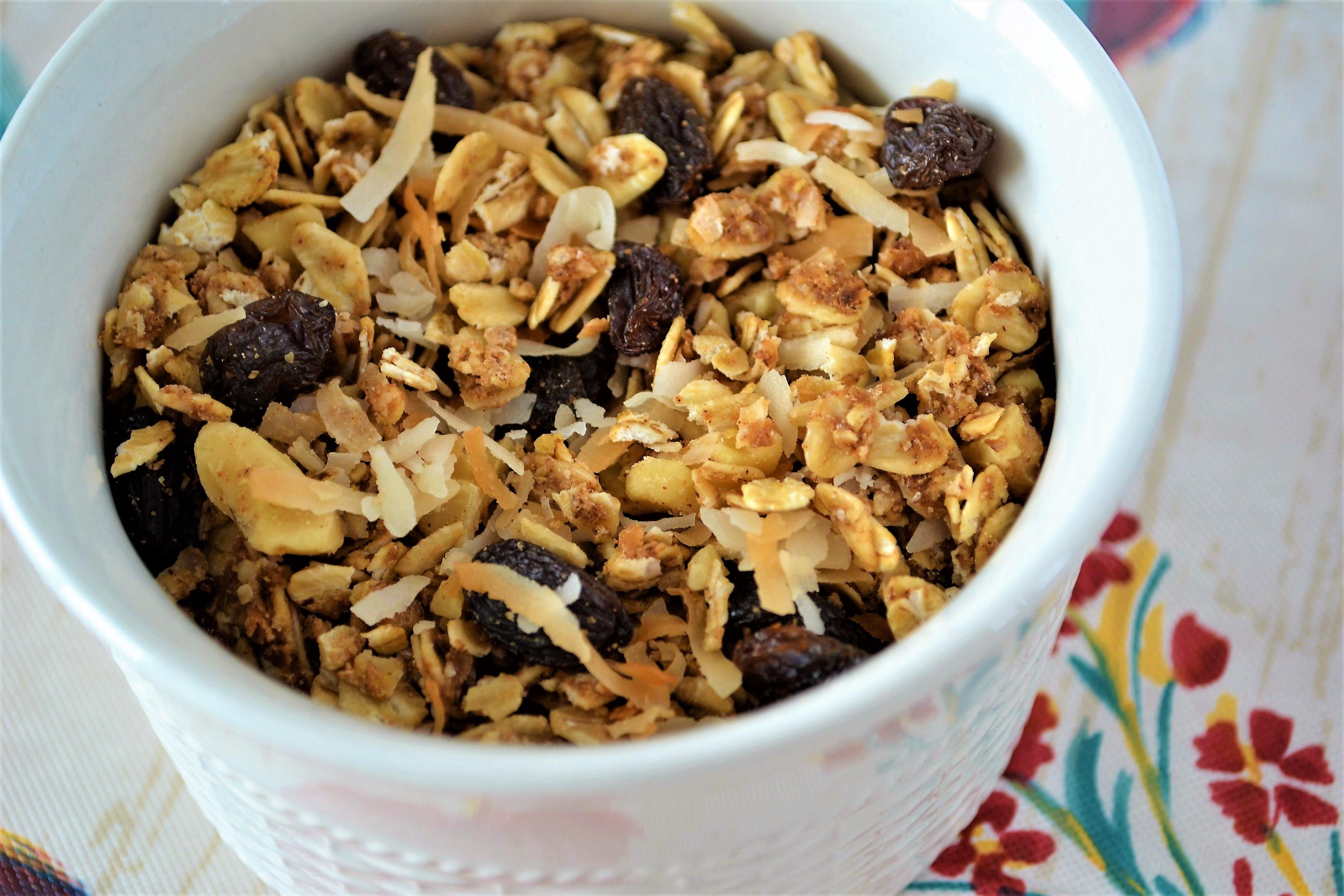 Canadian Vegan Peanut Butter Granola Recipe Kim