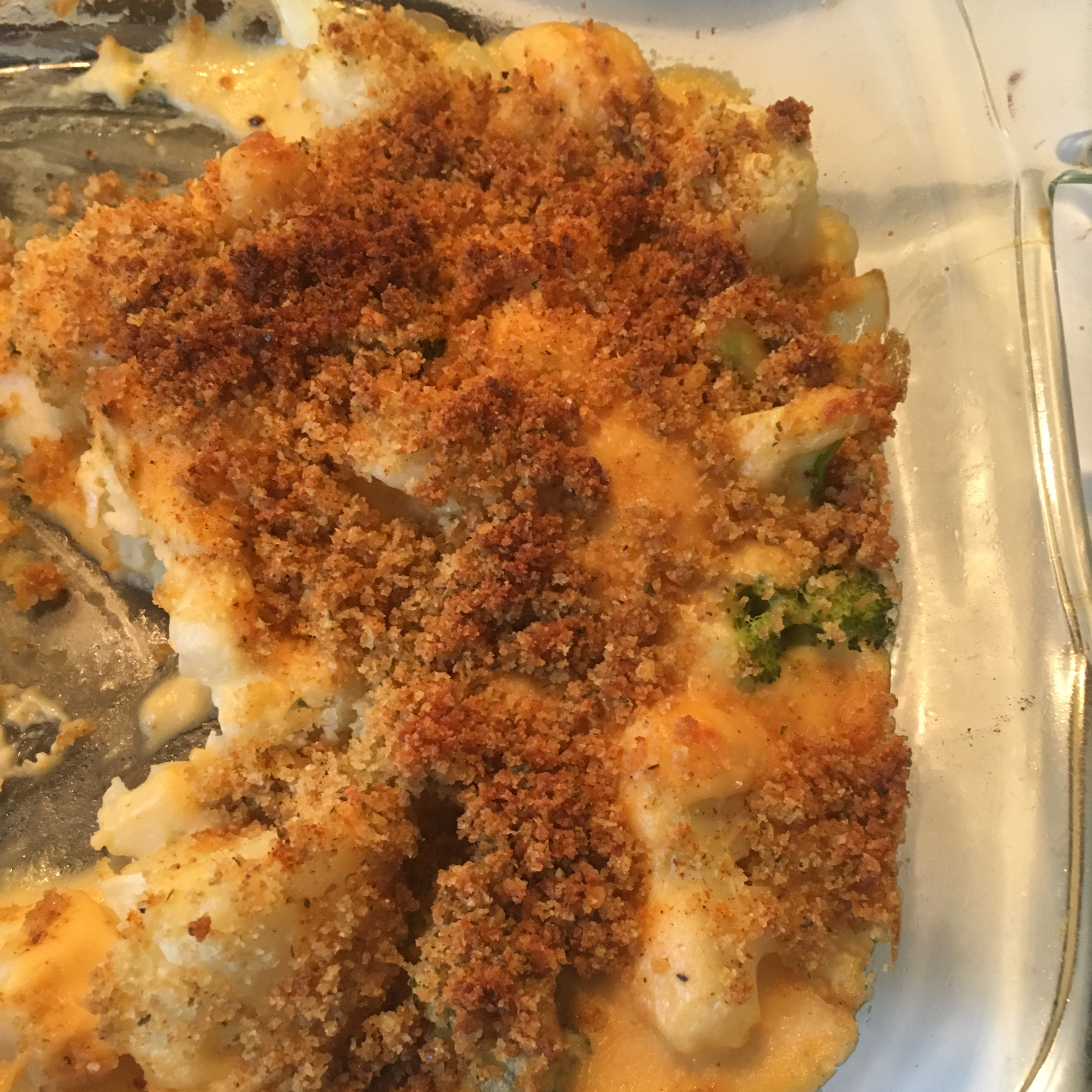 Broccoli and Cauliflower Gratin Brooklyn Idalski