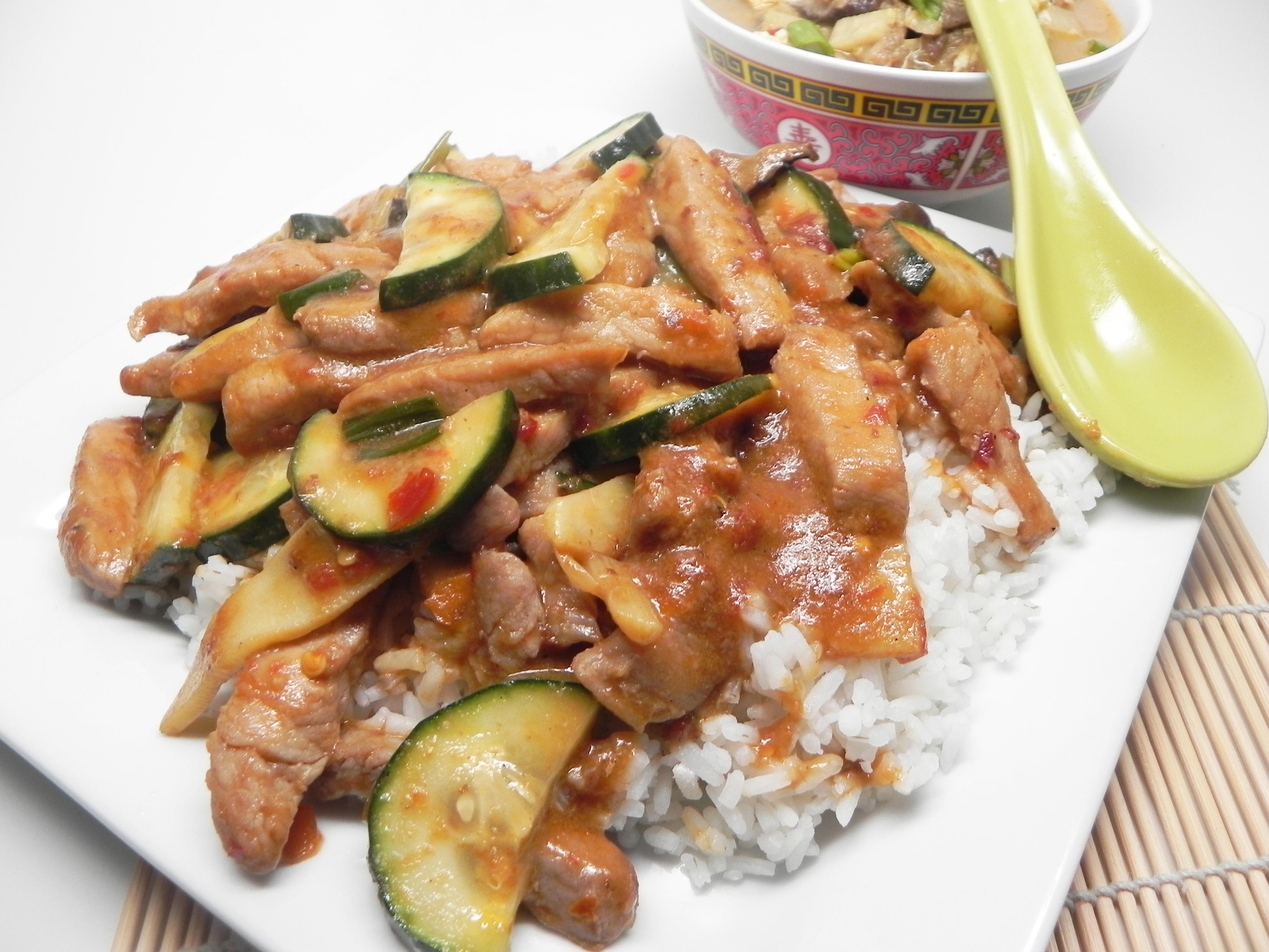 Sichuan Pork Stir-Fry