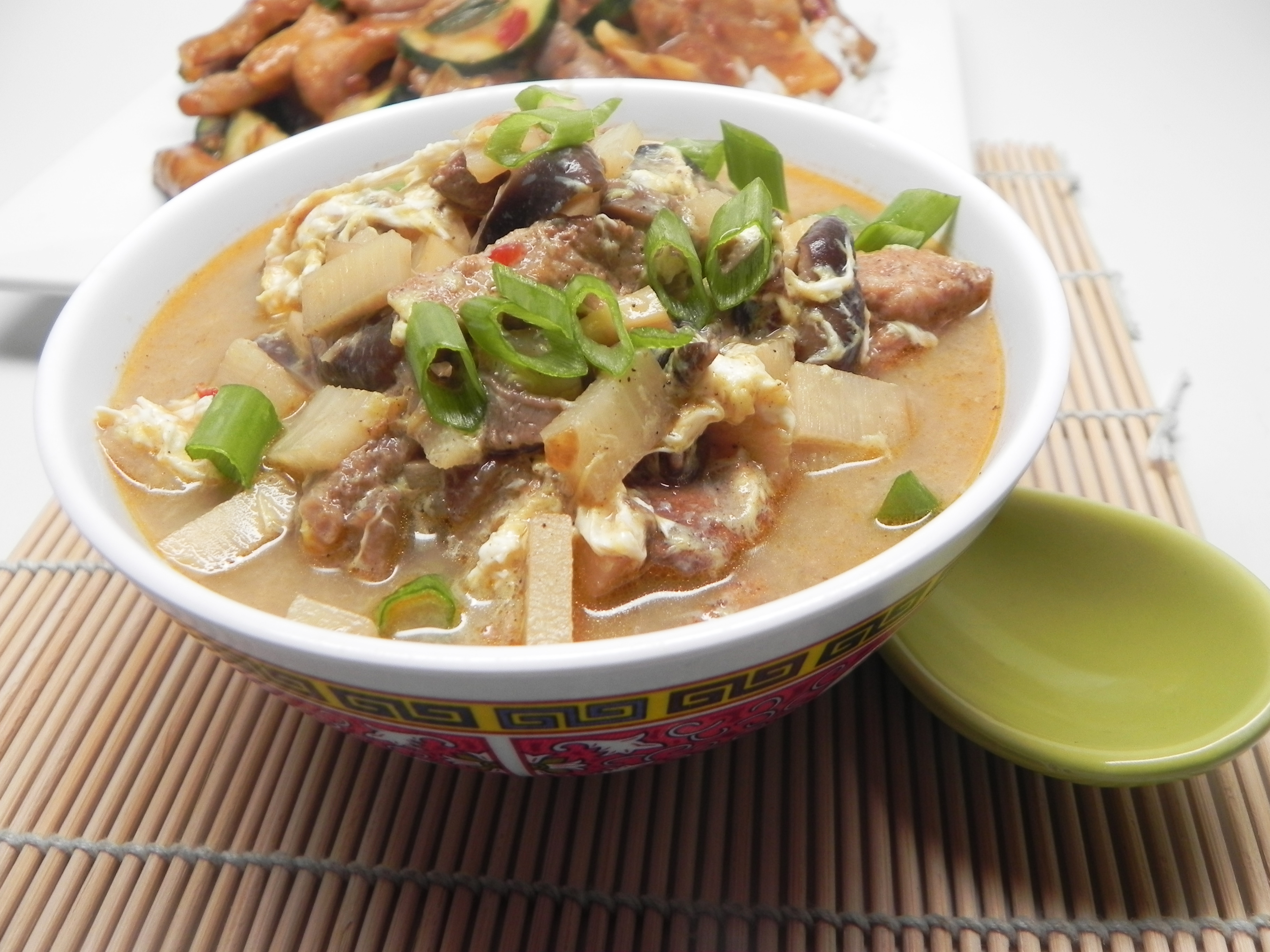 Pork and Bamboo Shoot Soup with Cloud Ear