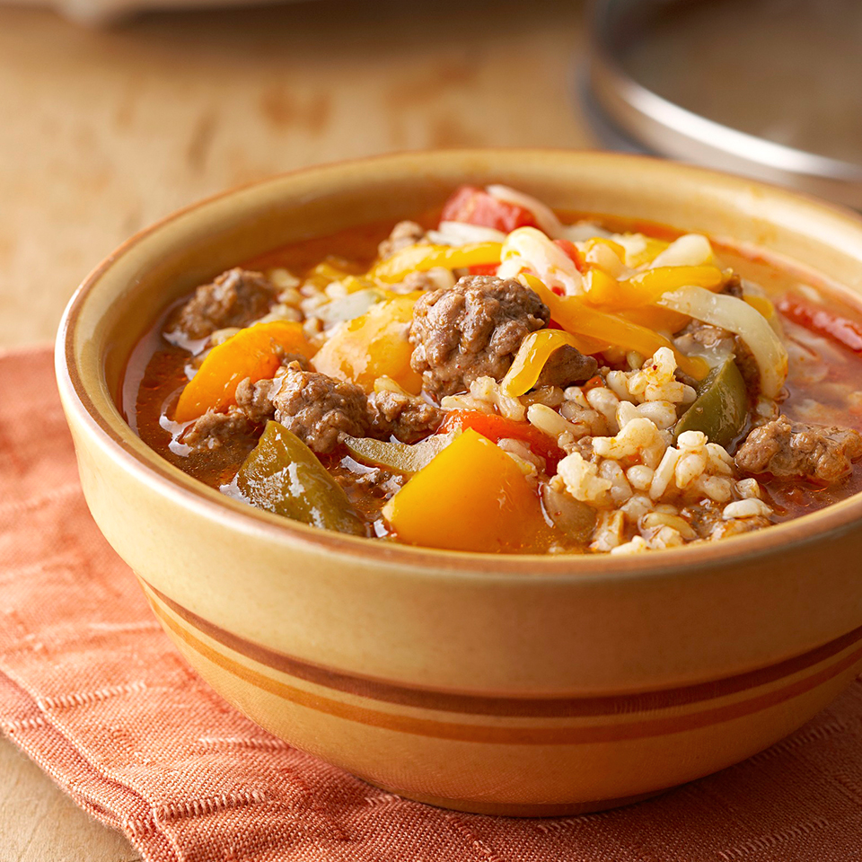 Stuffed Pepper Soup Diabetic Living Magazine