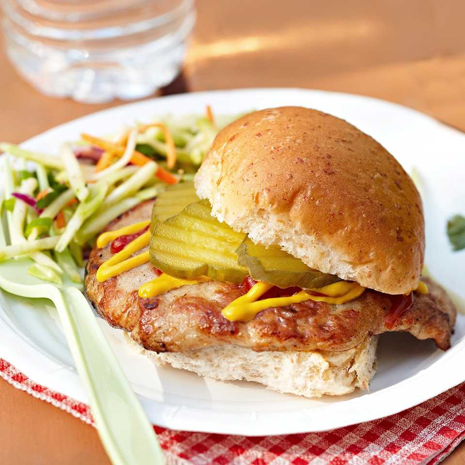 Pork Tenderloin Sandwiches with Broccoli Slaw Trusted Brands