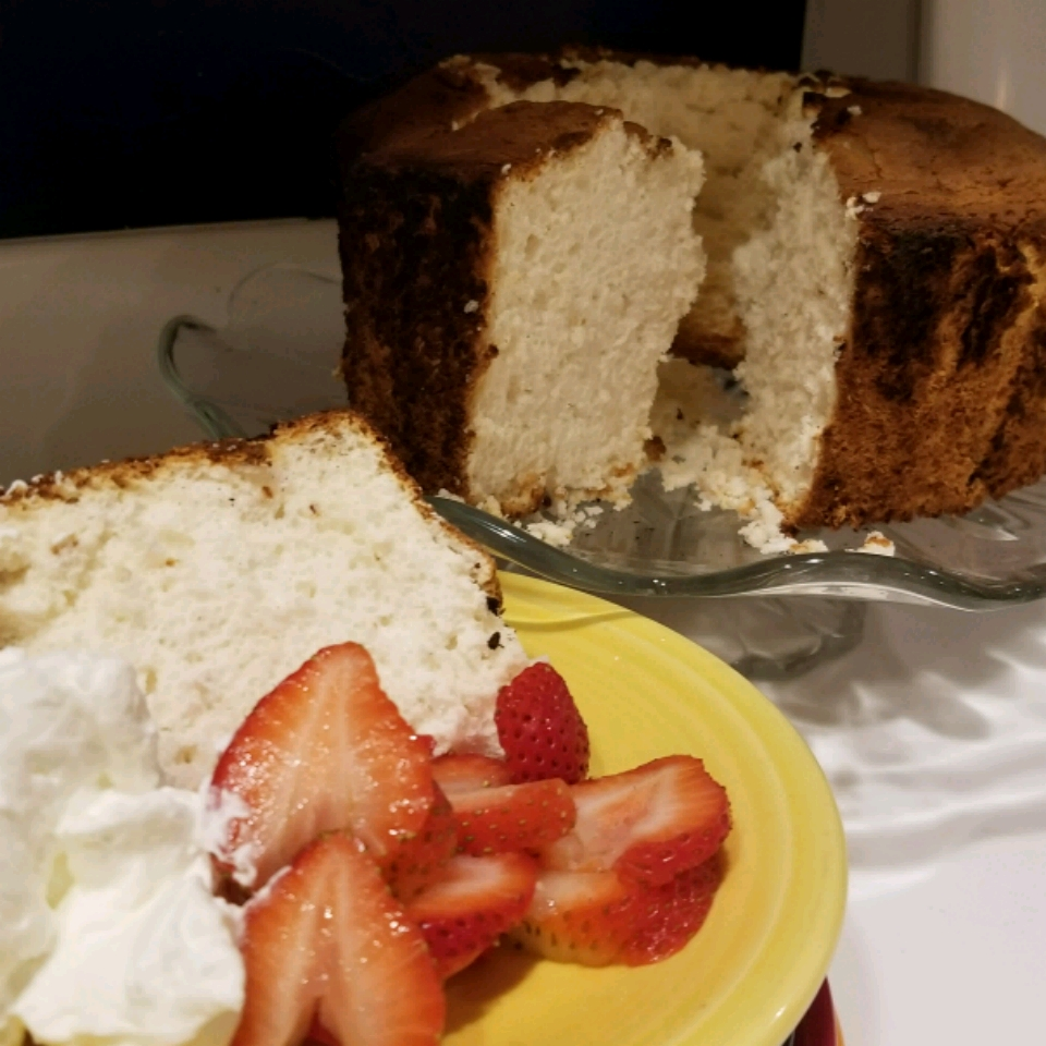 Honey Angel Food Cake Shannon