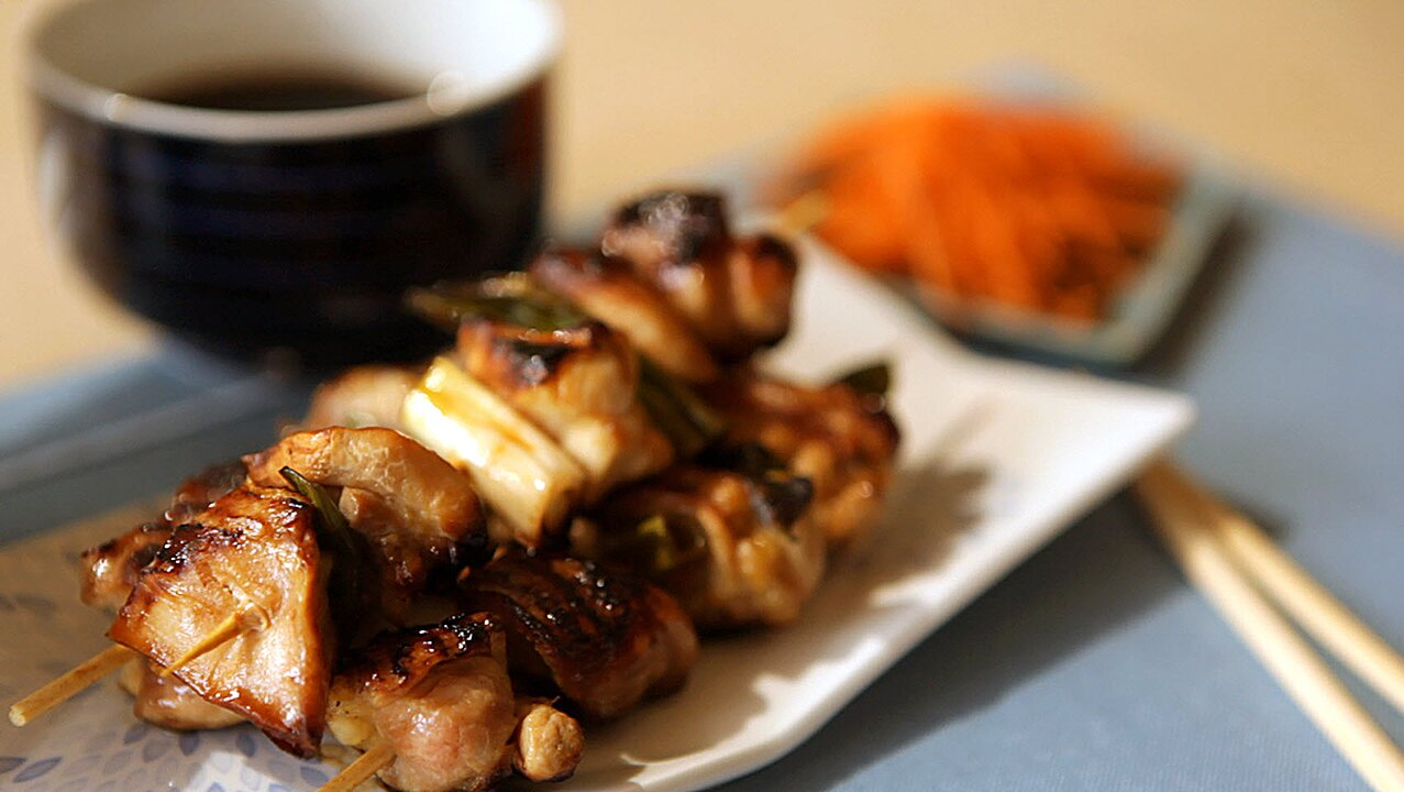 Easy Chicken Yakitori