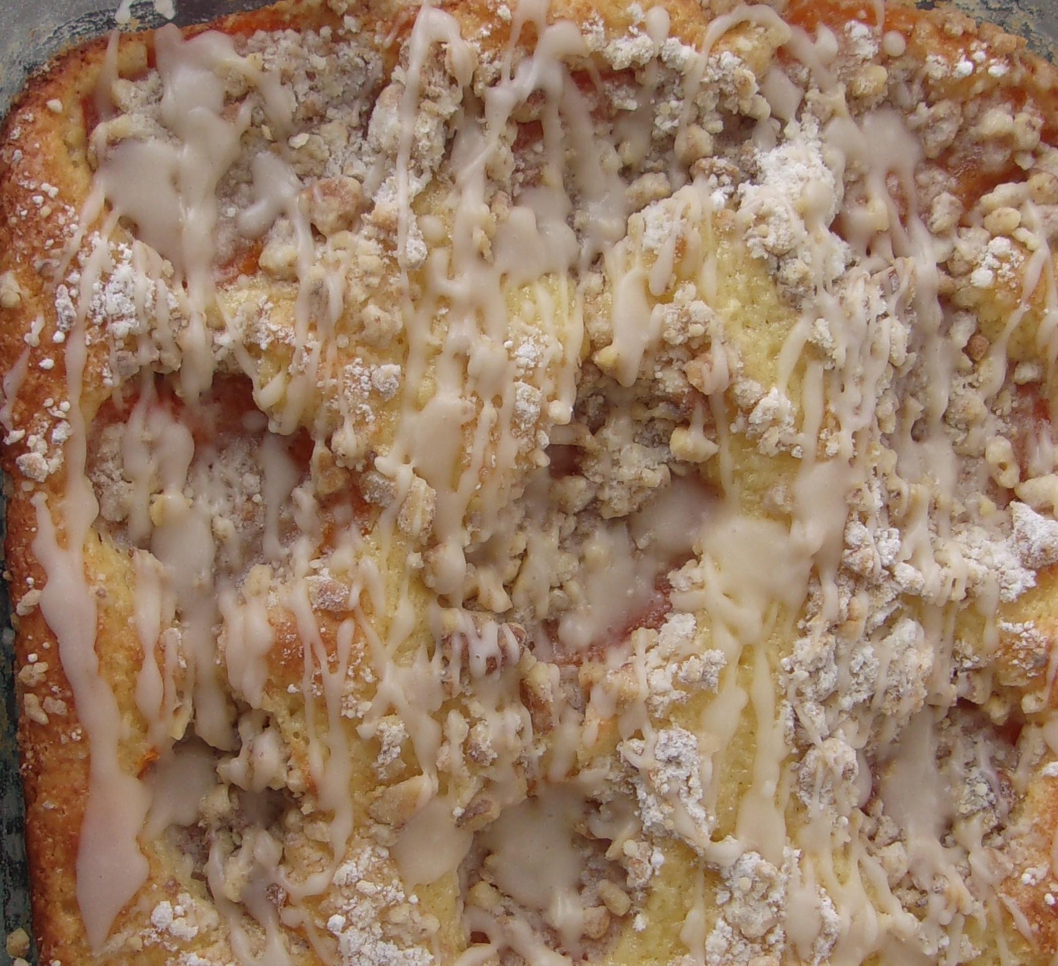 Apricot Danish Coffee Cake