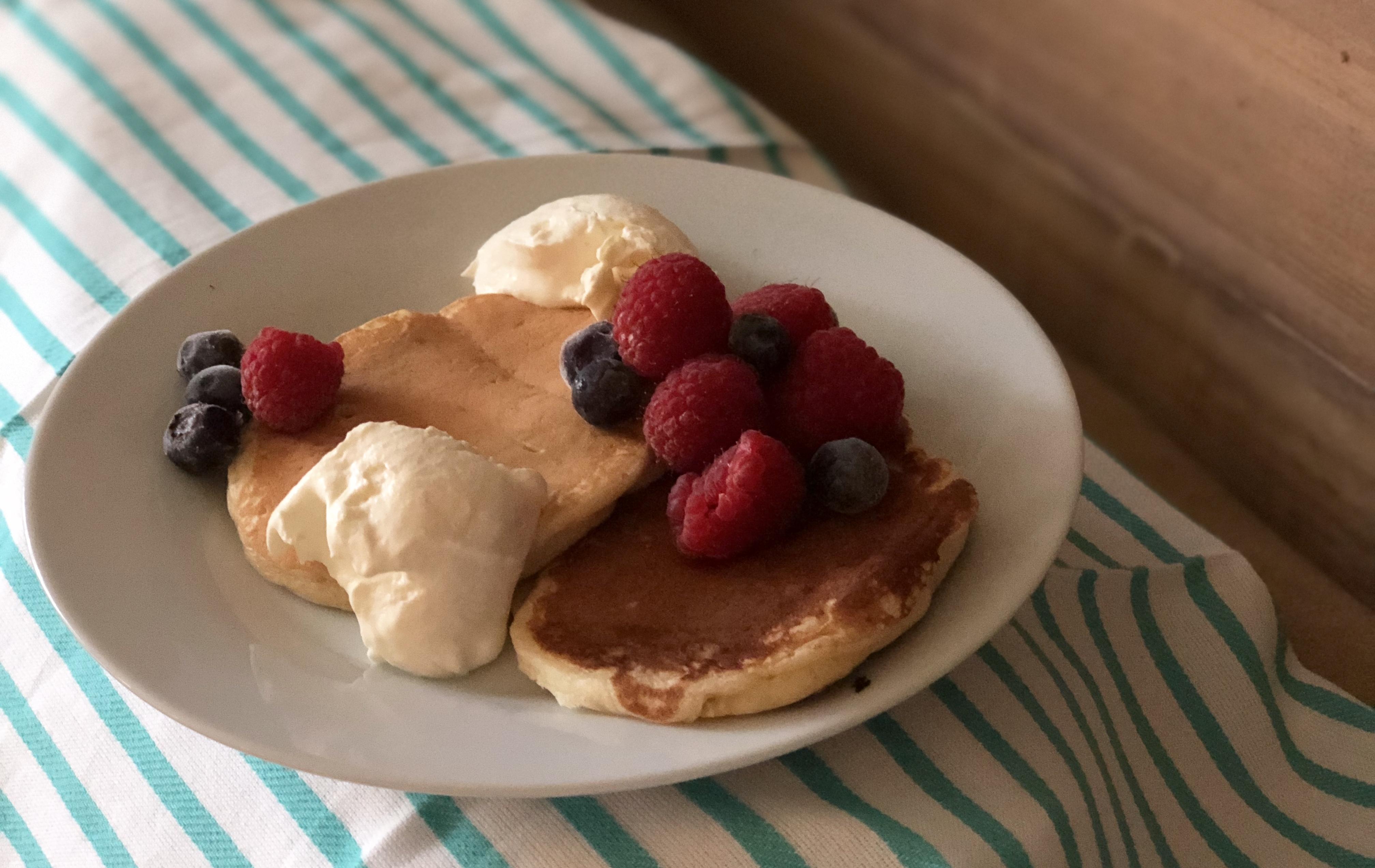 Easy Vegan Banana Pancakes Fioa