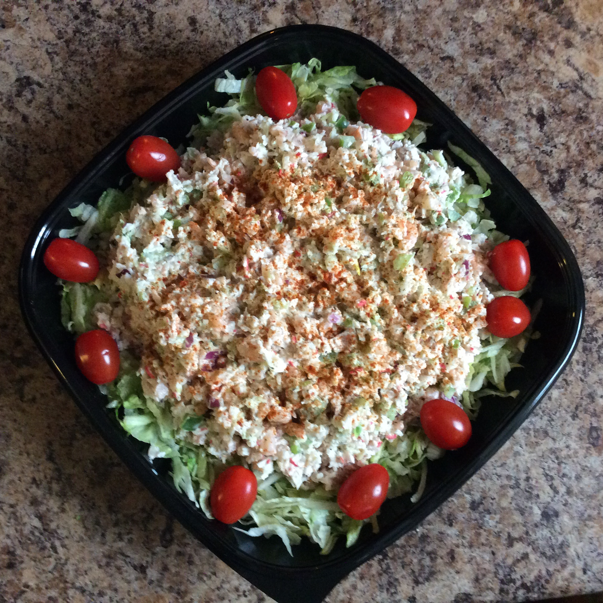 Classic Crab and Shrimp Salad Karen