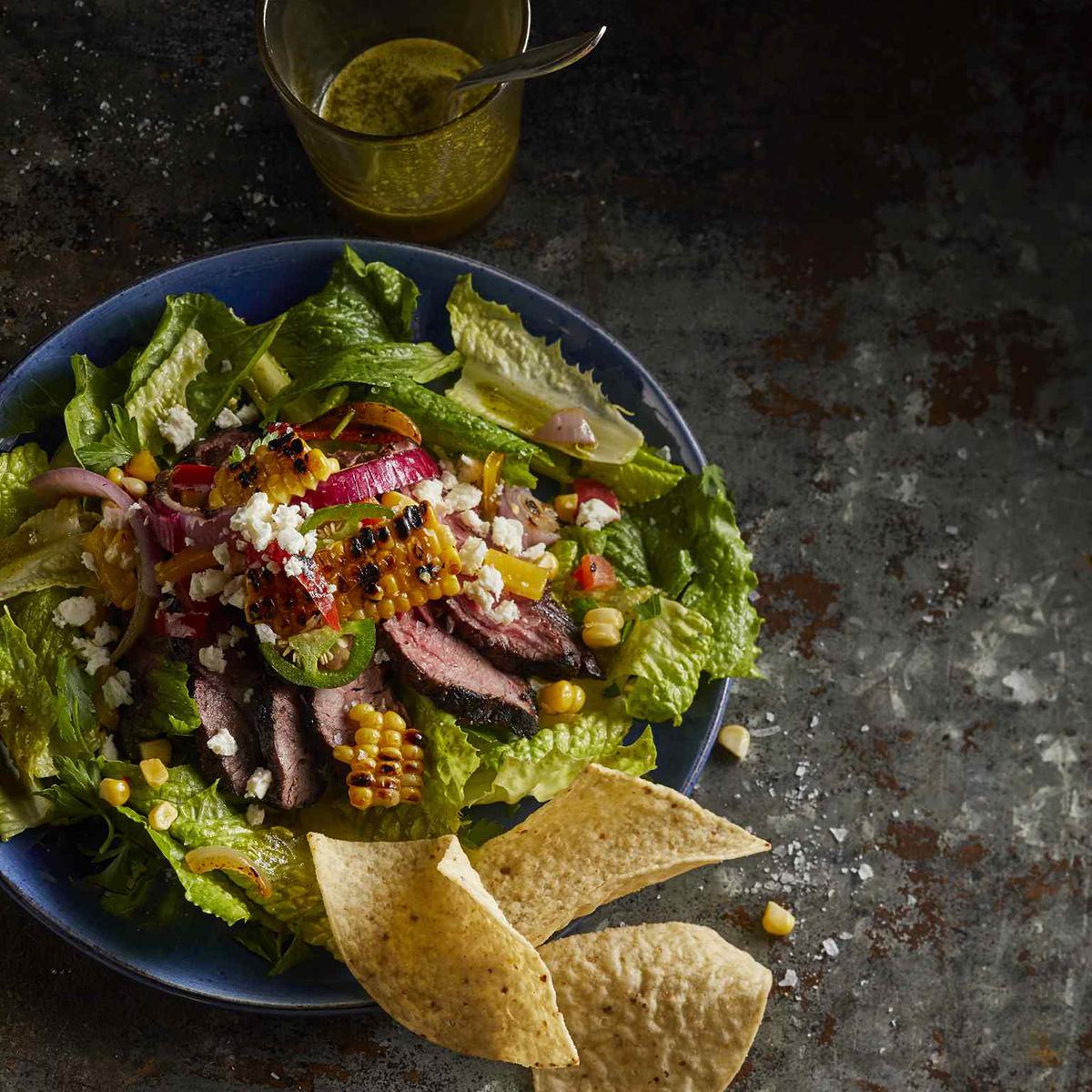 Cilantro-Lime Steak Salad