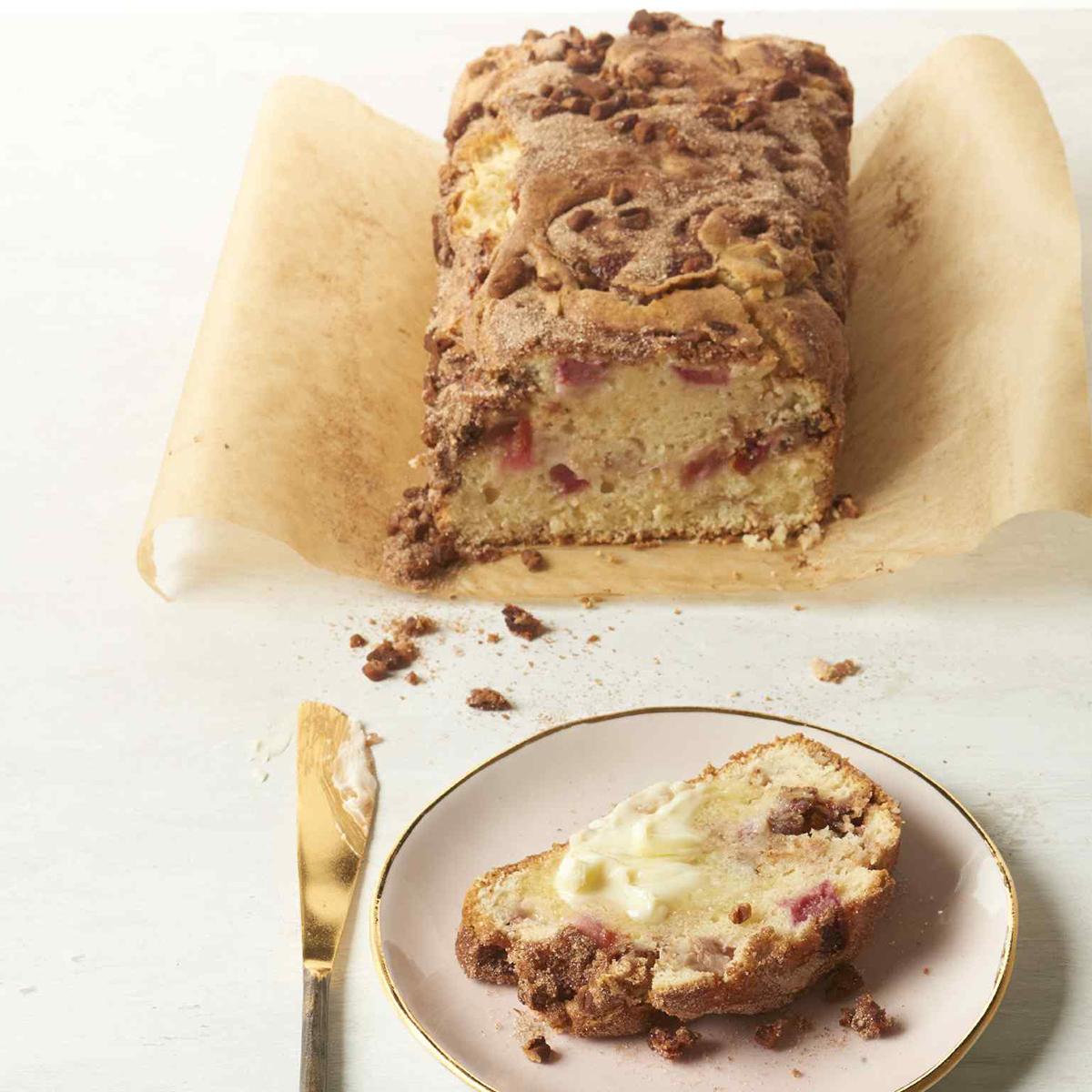 Rhubarb Cinnamon-Nut Bread Allrecipes Magazine