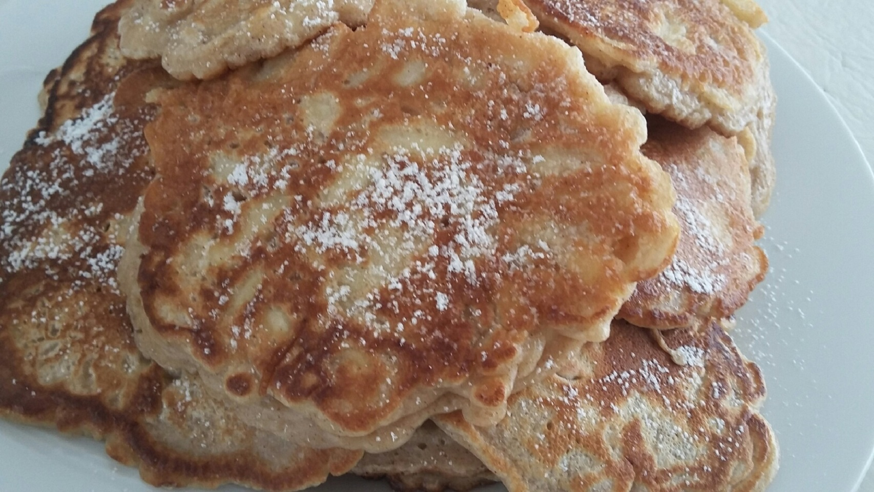 Racuchy z Jablkami (Polish Apple Pancakes) the4taals