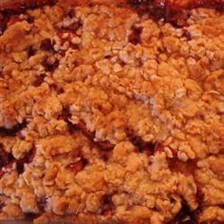 Brenda's Apple and Pomegranate Crisp cocobinx