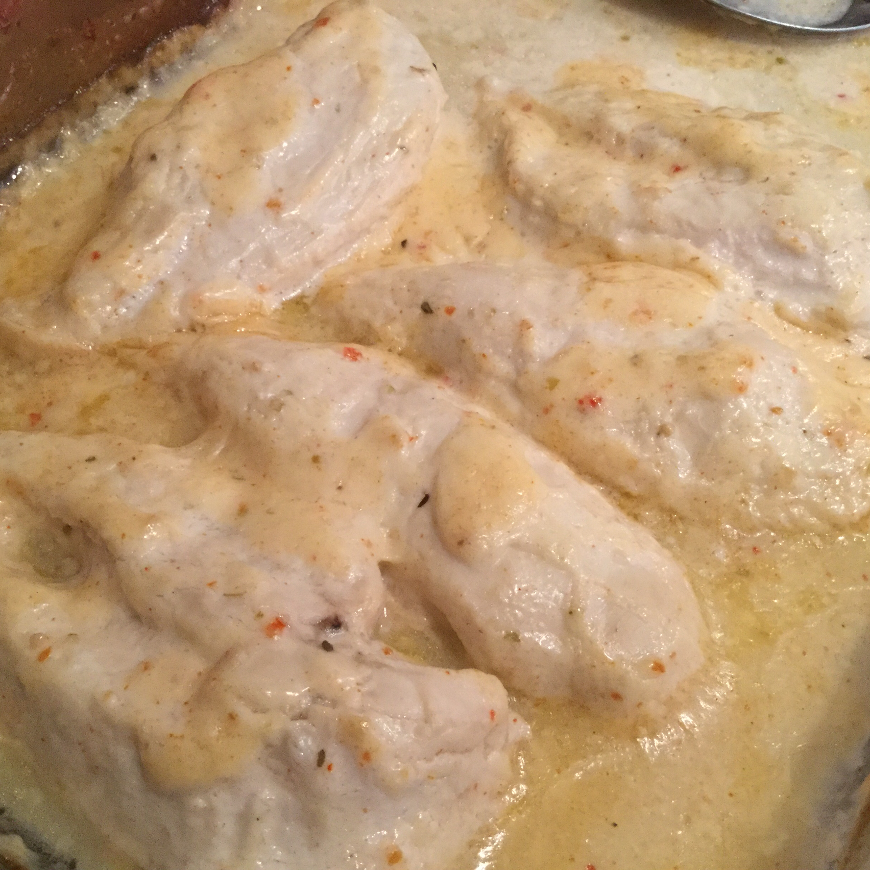 Creamy Chicken Breasts sunshine
