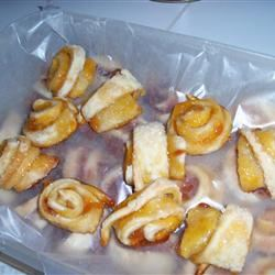 Raspberry and Apricot Rugelach Ruth McCall
