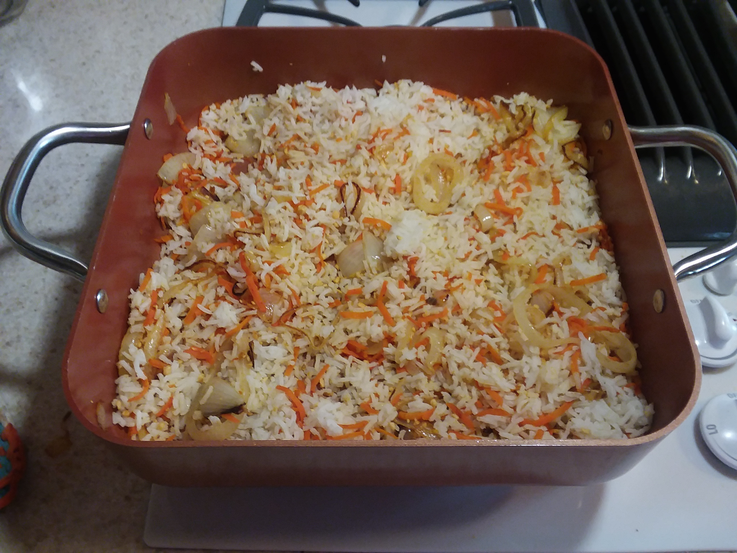 Carrot Rice Penny Overton