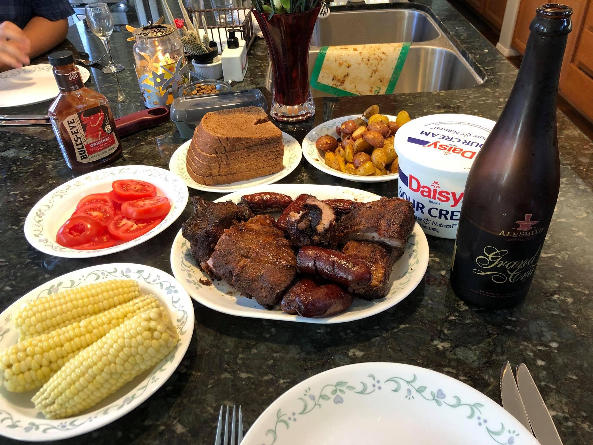 Sweet Smoked Pork Ribs Denise René