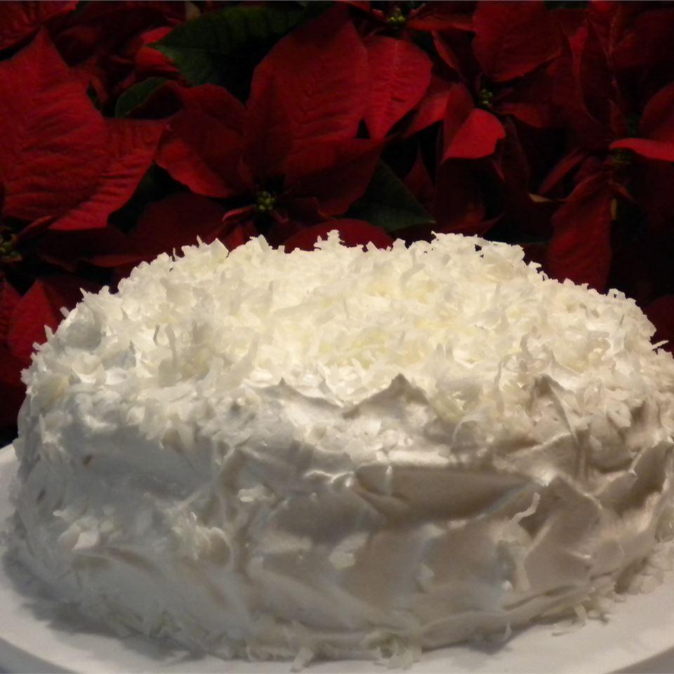 Creamy Coconut Cake YellowRaven
