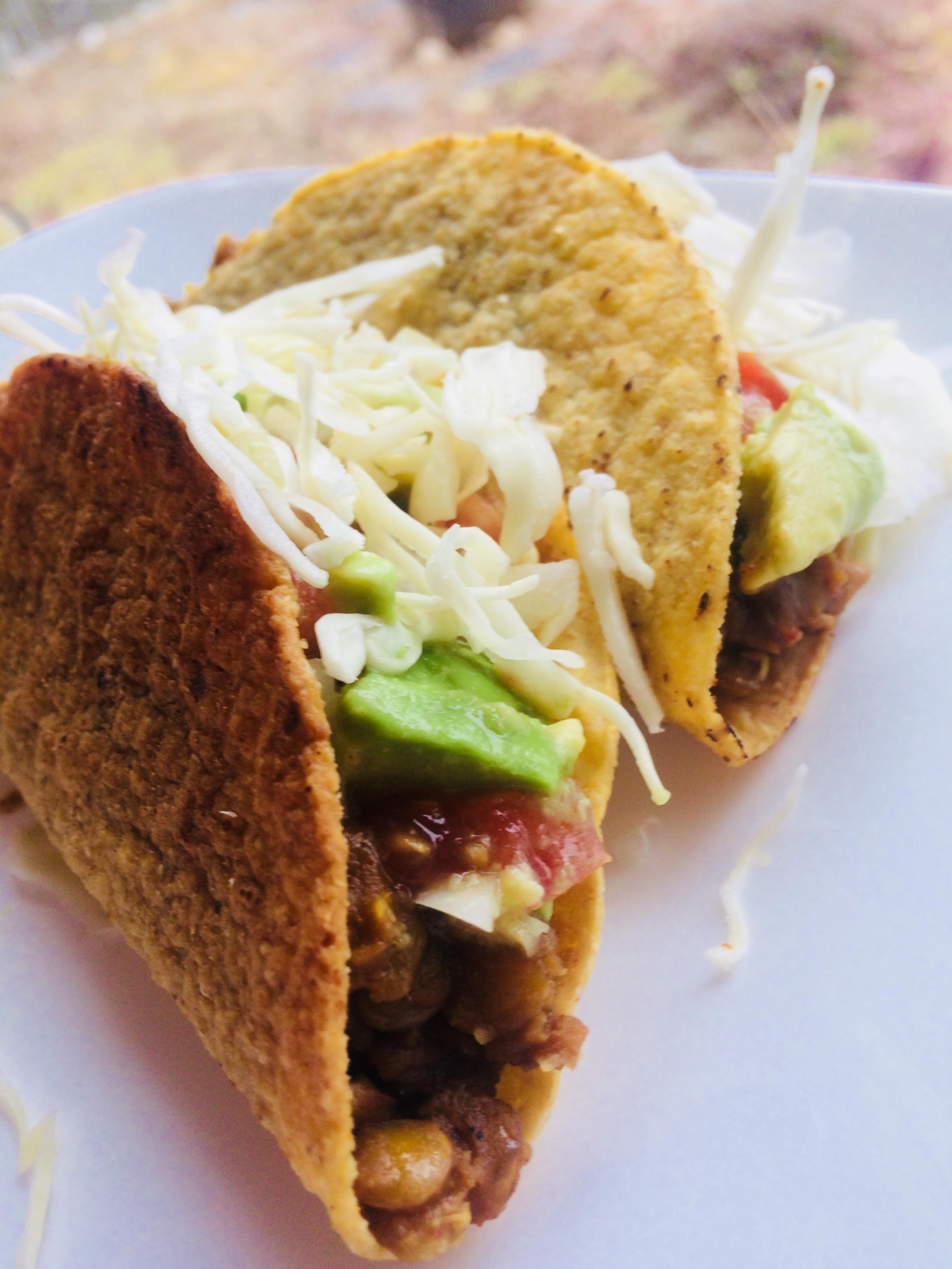 Tasty Lentil Tacos BusyBeeTami