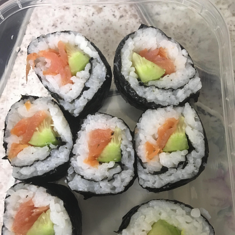 Smoked Salmon Sushi Roll Tina_Prr