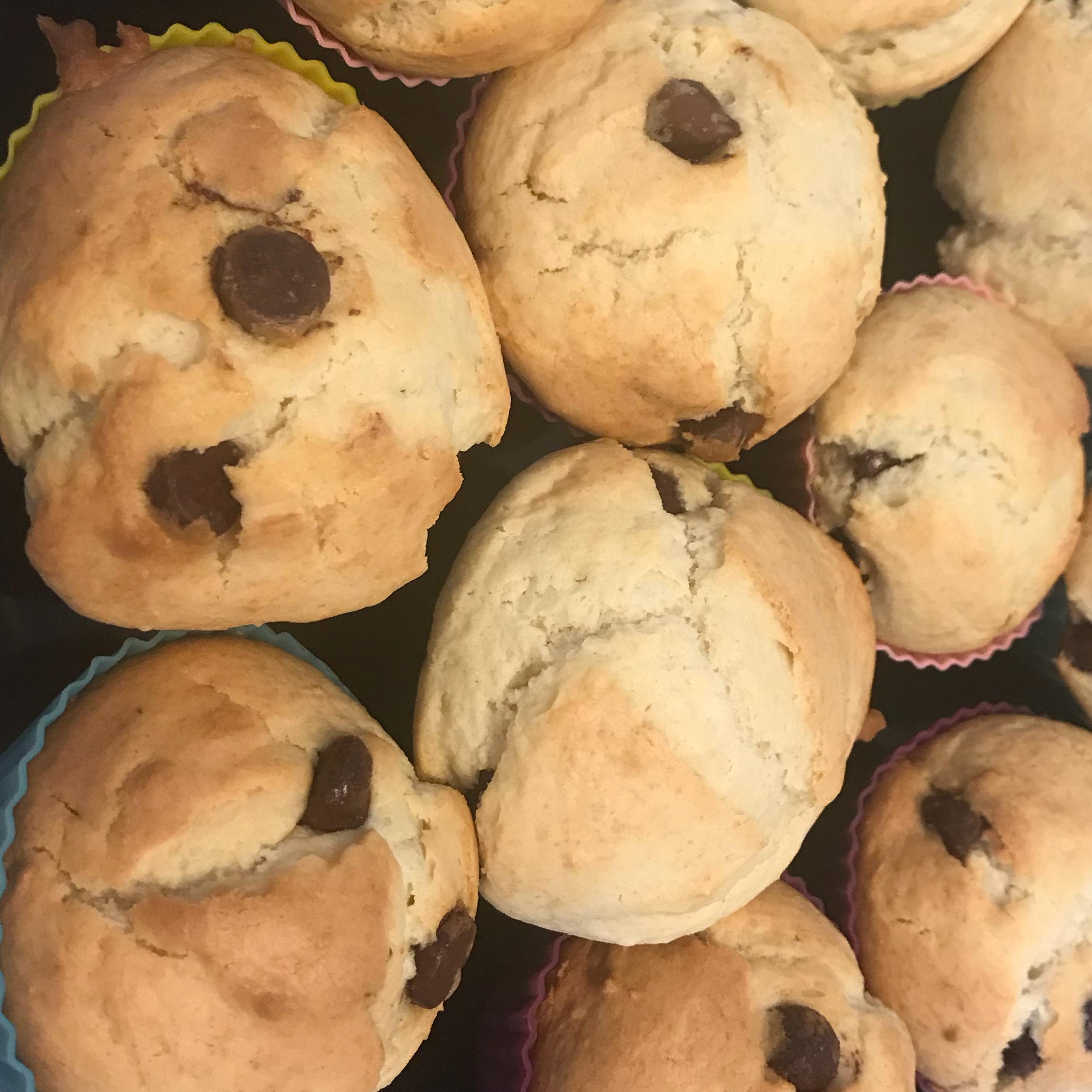 Chocolate Chip Muffins II JulkaChohi