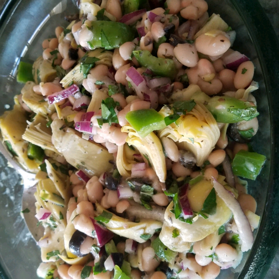 White Bean and Artichoke Salad Hey Gil